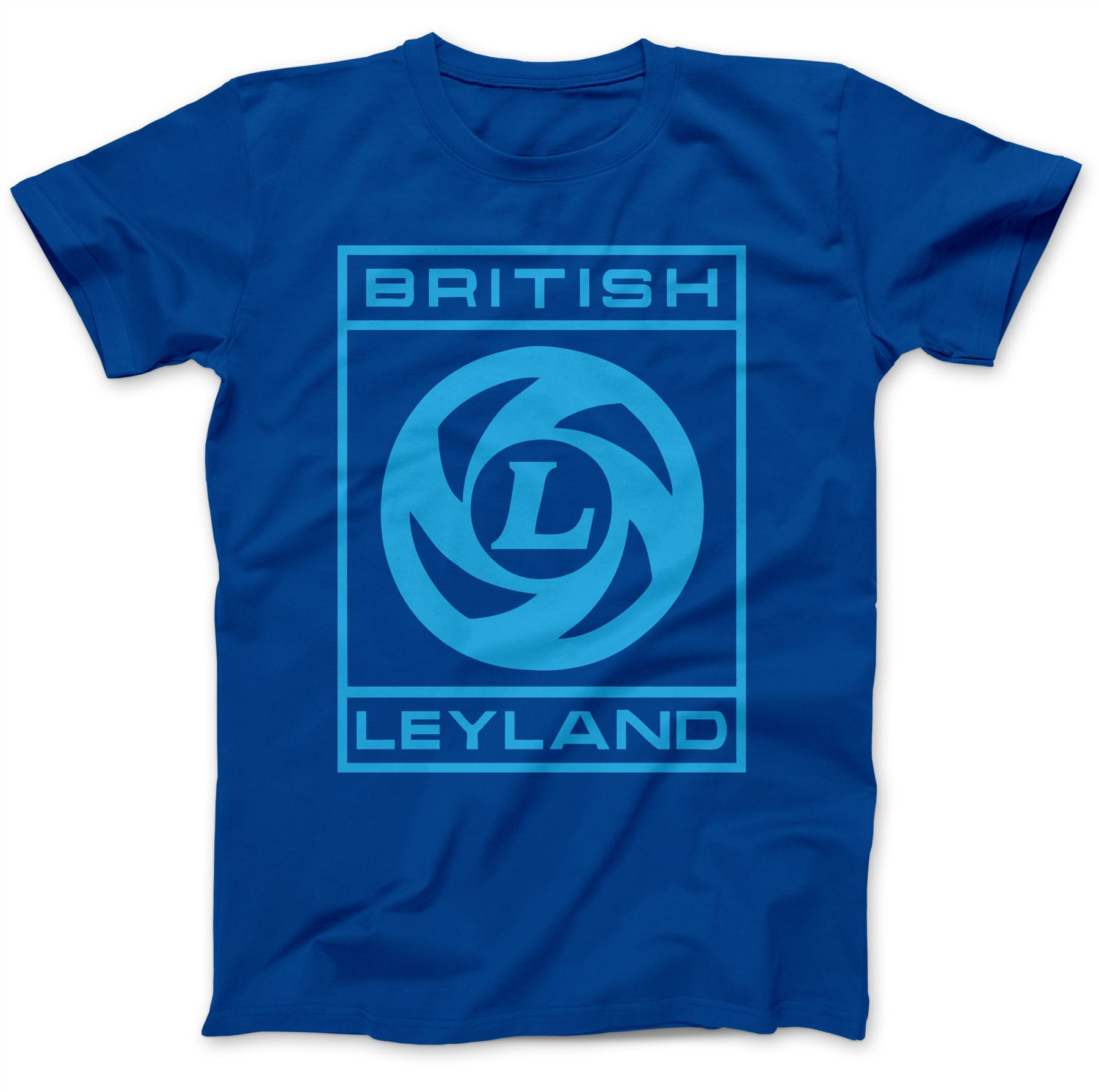 British leyland retro t shirt 100 premium cotton austin for Good looking records t shirt