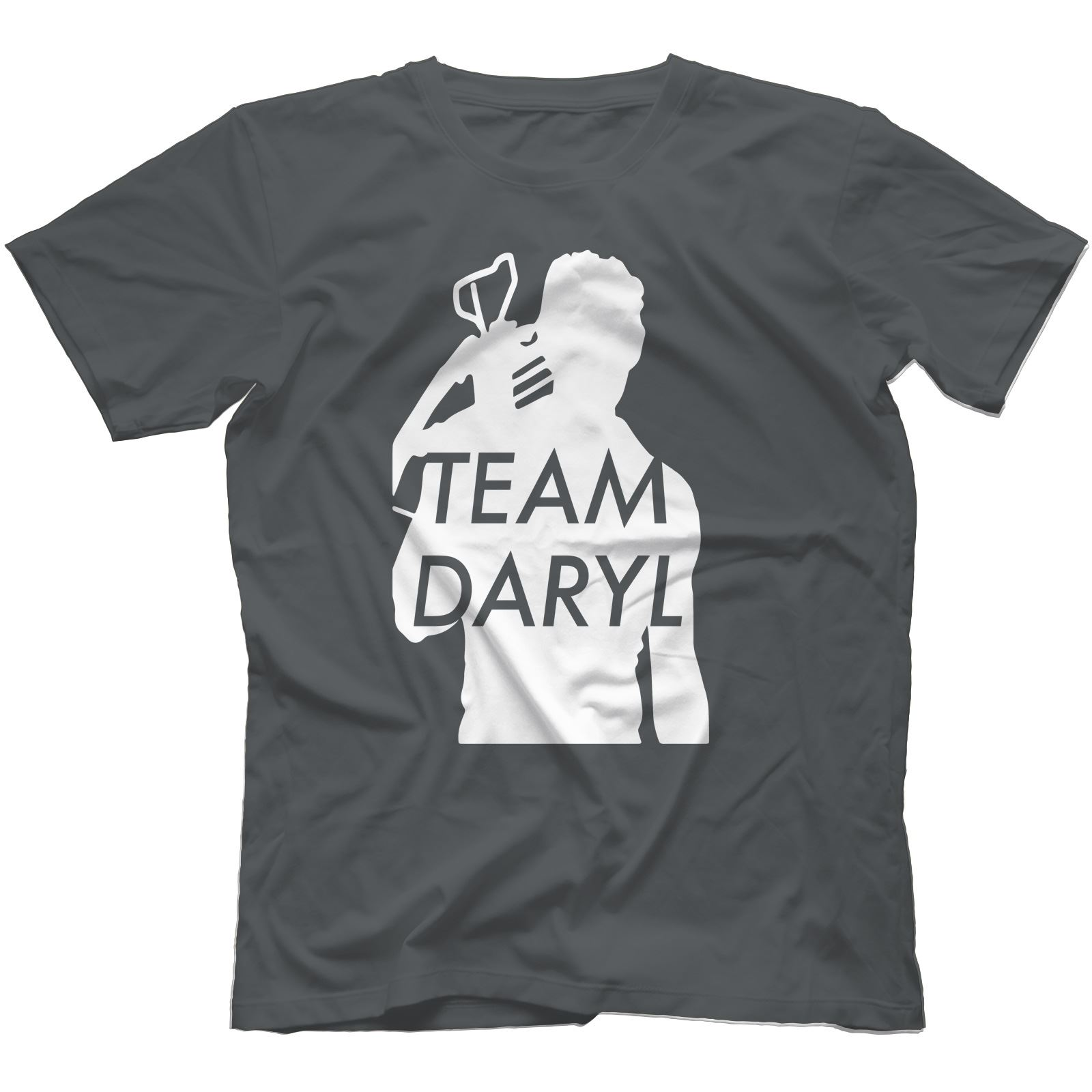 Team-Daryl-Walking-Dead-Inspired-T-Shirt-100-Cotton-Zombie-The-Governor thumbnail 3
