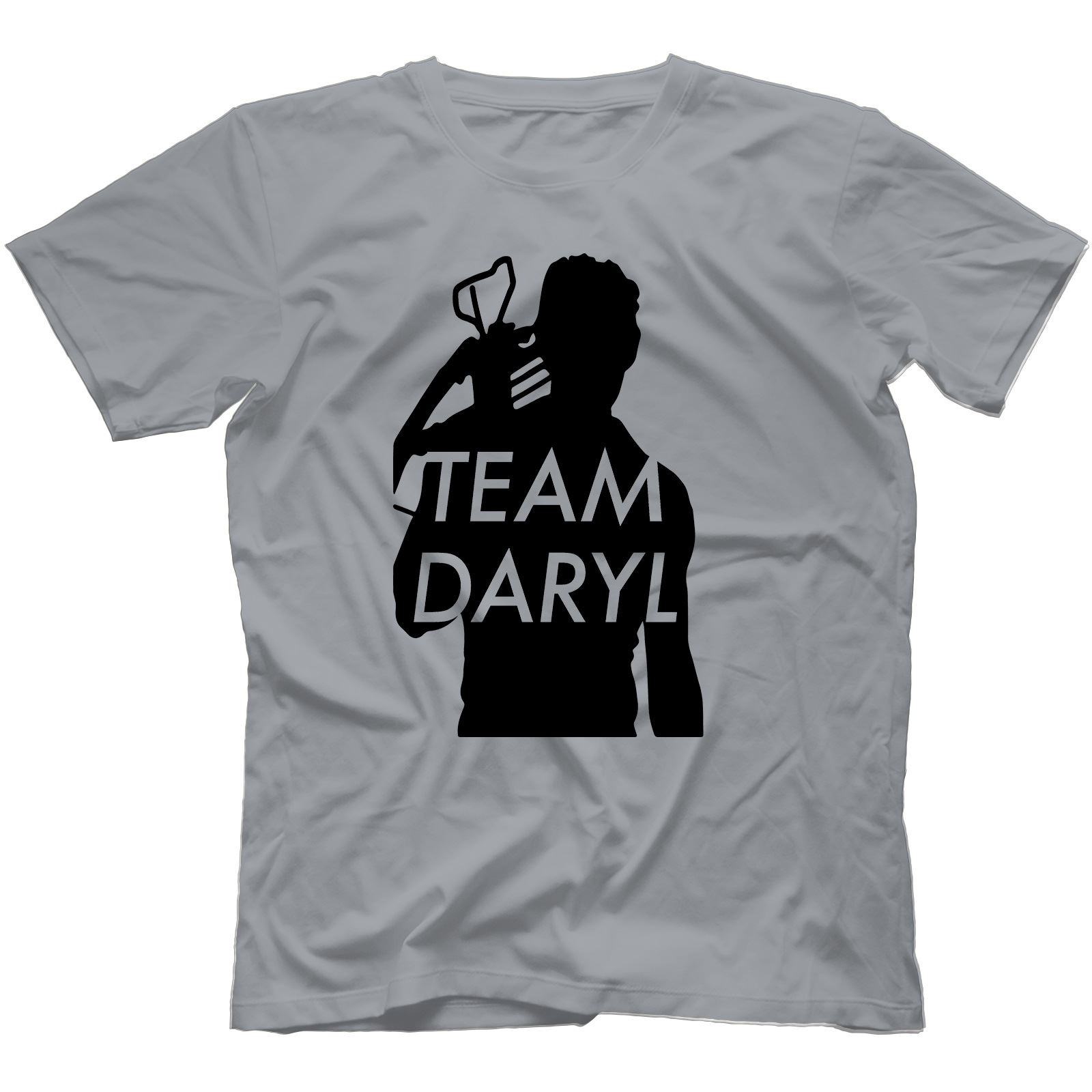 Team-Daryl-Walking-Dead-Inspired-T-Shirt-100-Cotton-Zombie-The-Governor thumbnail 6