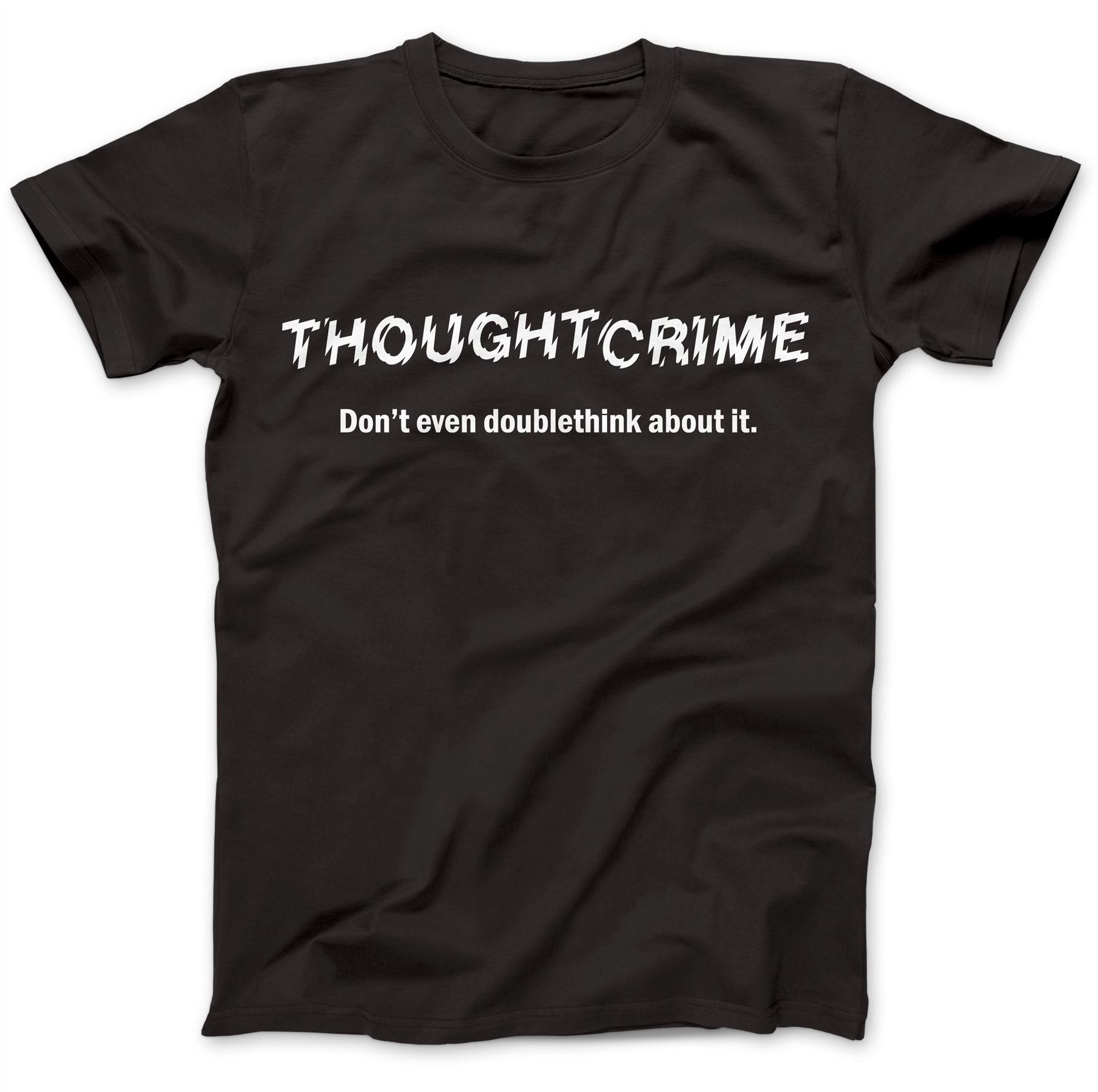 1984-Thought-Crime-George-Orwell-T-Shirt-100-Premium-Cotton-Animal-Farm miniatuur 5