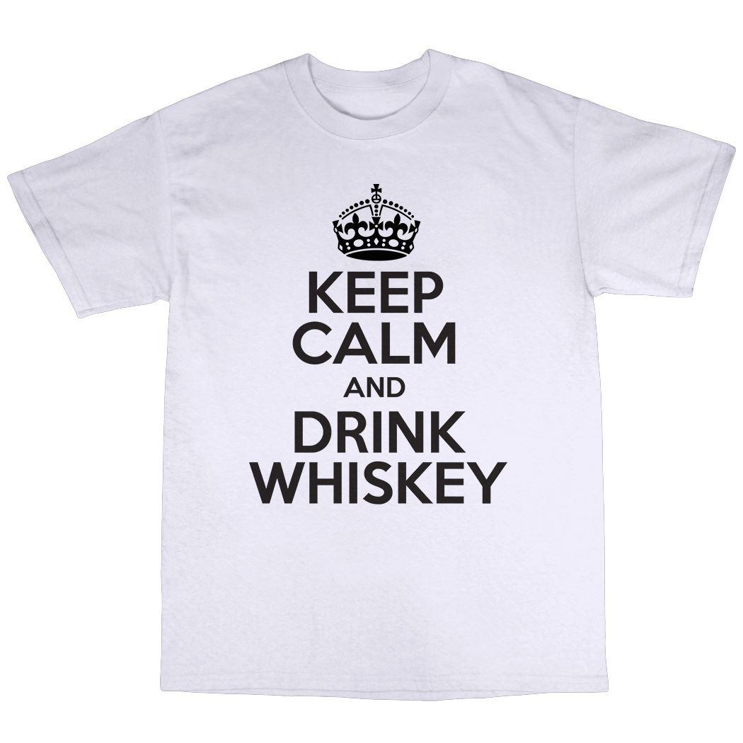 t-shirt drink alcohol malt Irish Scottish glass bottle joke 4327 whisky is gone