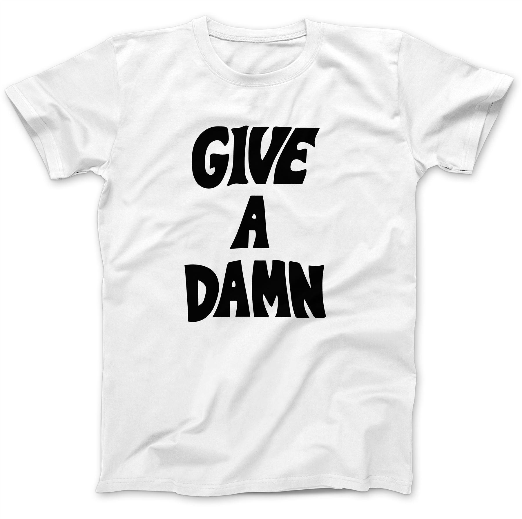 Give-A-Damn-As-Worn-By-Alex-Turner-T-Shirt-100-Premium-Cotton-Music-Gift miniatuur 12