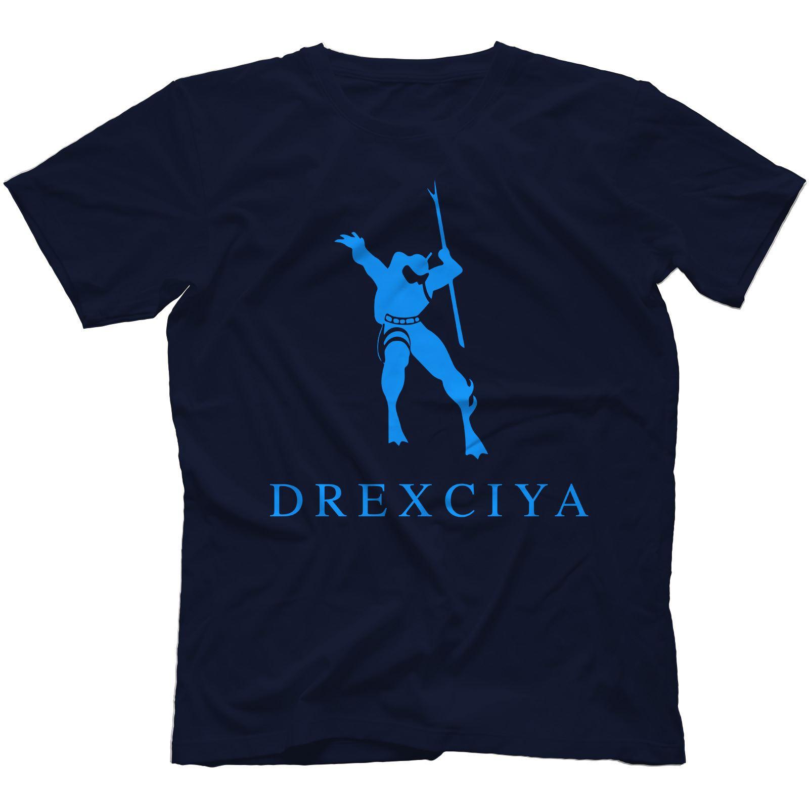 Drexciya-T-Shirt-100-Cotton-Detroit-Electro-Underground-Resistance-Aux-88