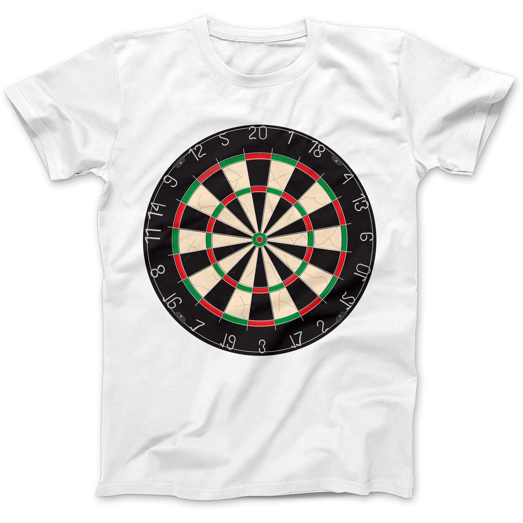 Dartboard-Dardos-Dart-Jugador-Camiseta-100-Algodon-Premium-Phil-Taylor-van-Gerwen