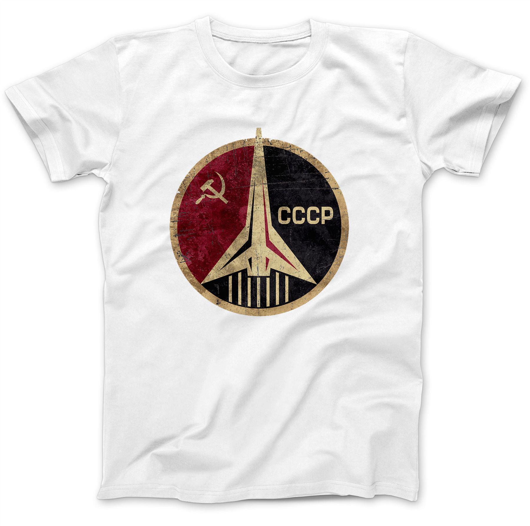 CCCP-Russian-Soviet-USSR-T-Shirt-100-Premium-Cotton-Hammer-And-Sickle Indexbild 17
