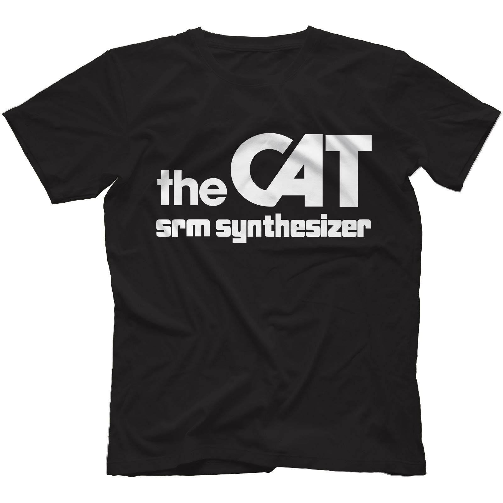 The-Cat-SRM-Synthesiser-T-Shirt-100-Cotton-Retro-Analog-Arp-Odyssey Indexbild 9