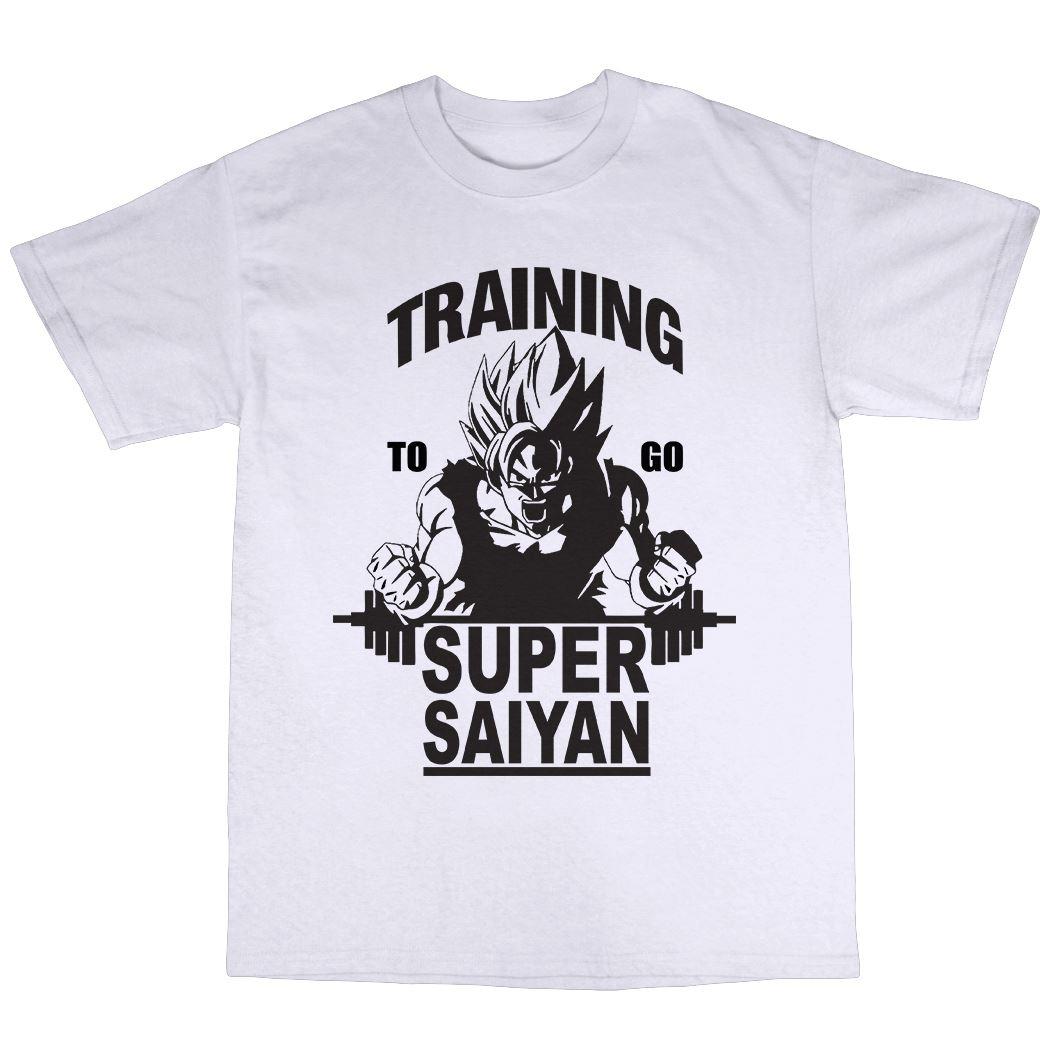 Super Saiyan Training T-Shirt 100/% Premium Cotton Manga
