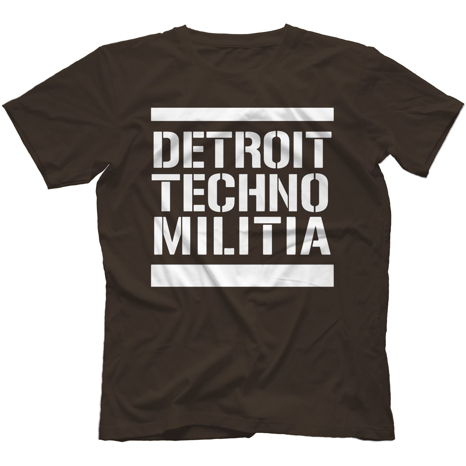 Detroit-Techno-Militia-T-Shirt-100-Cotton-Vinyl-909-Underground-Resistance Indexbild 21
