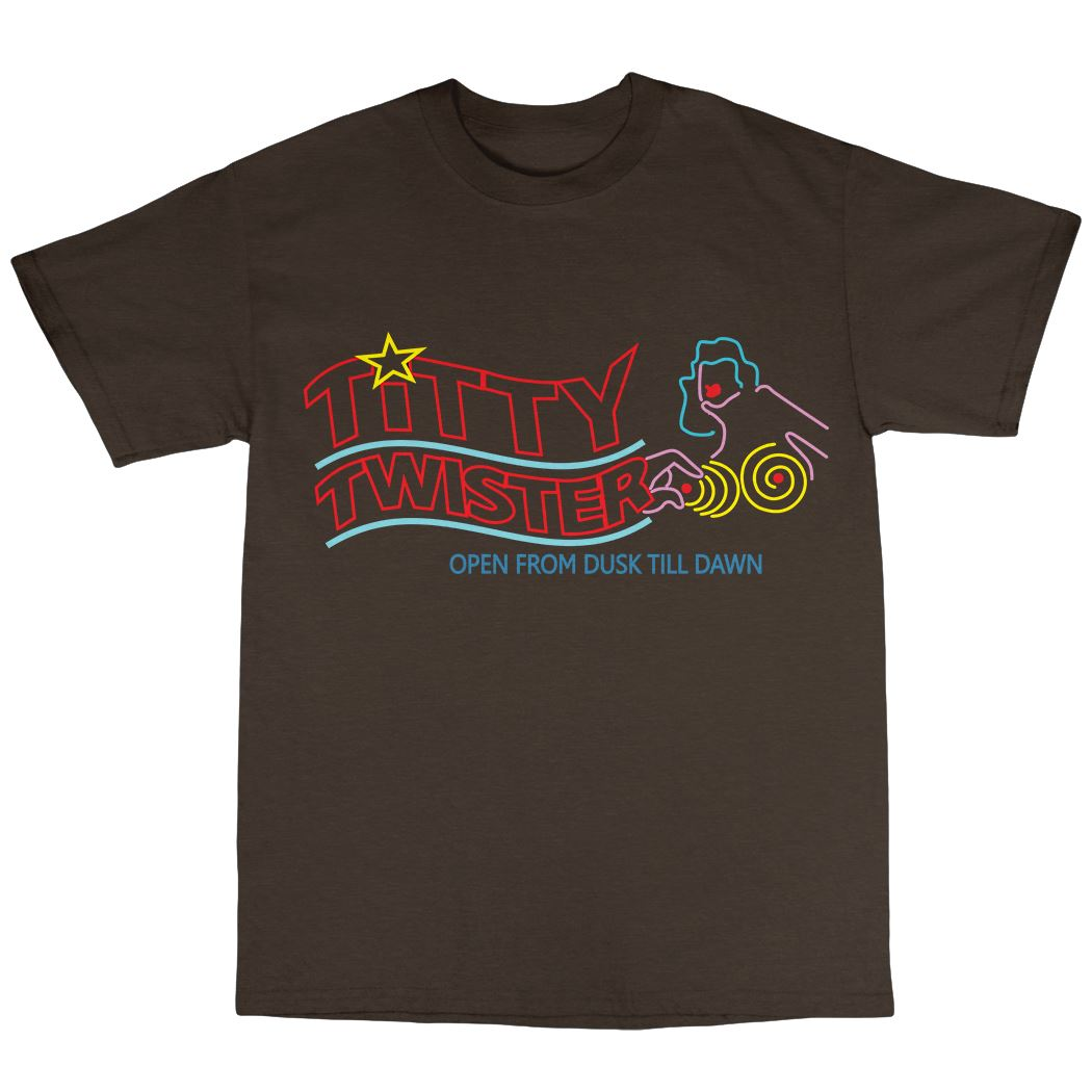 From-Dusk-039-Til-Dawn-Inspired-T-Shirt-100-Cotton-Titty-Twister-Pulp-Fiction Indexbild 17