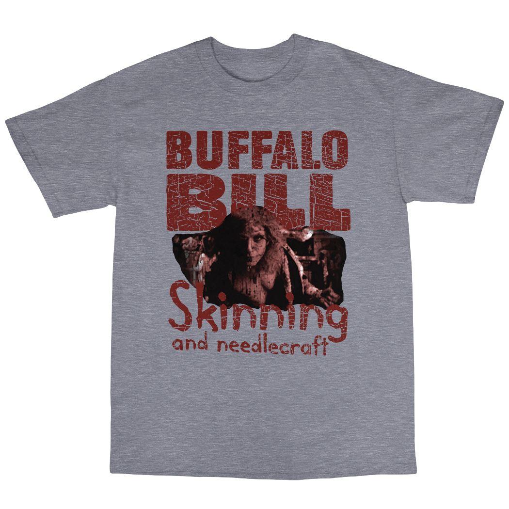Buffalo bill t shirt 100 cotton silence of the lambs for Custom t shirts buffalo ny