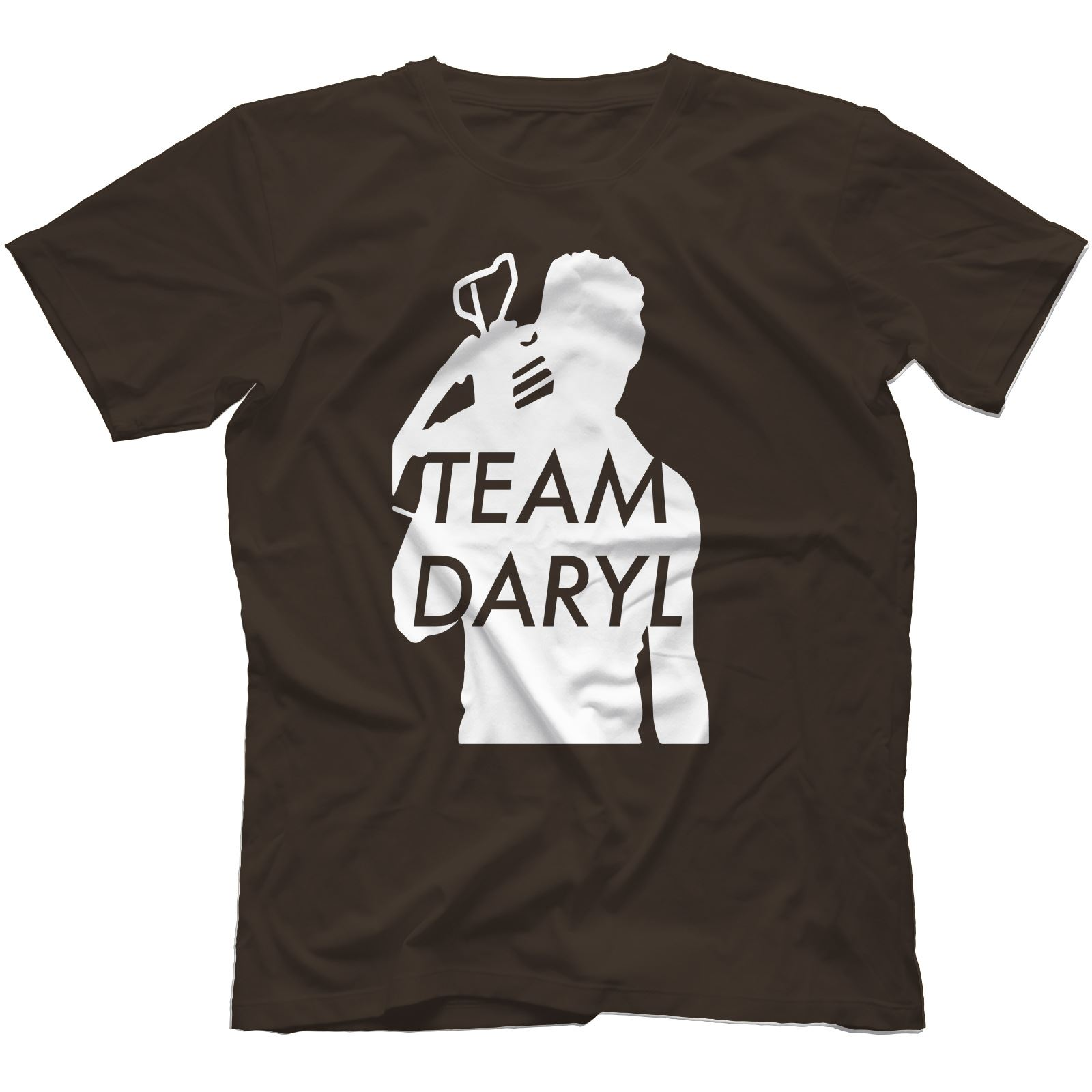 Team-Daryl-Walking-Dead-Inspired-T-Shirt-100-Cotton-Zombie-The-Governor thumbnail 4