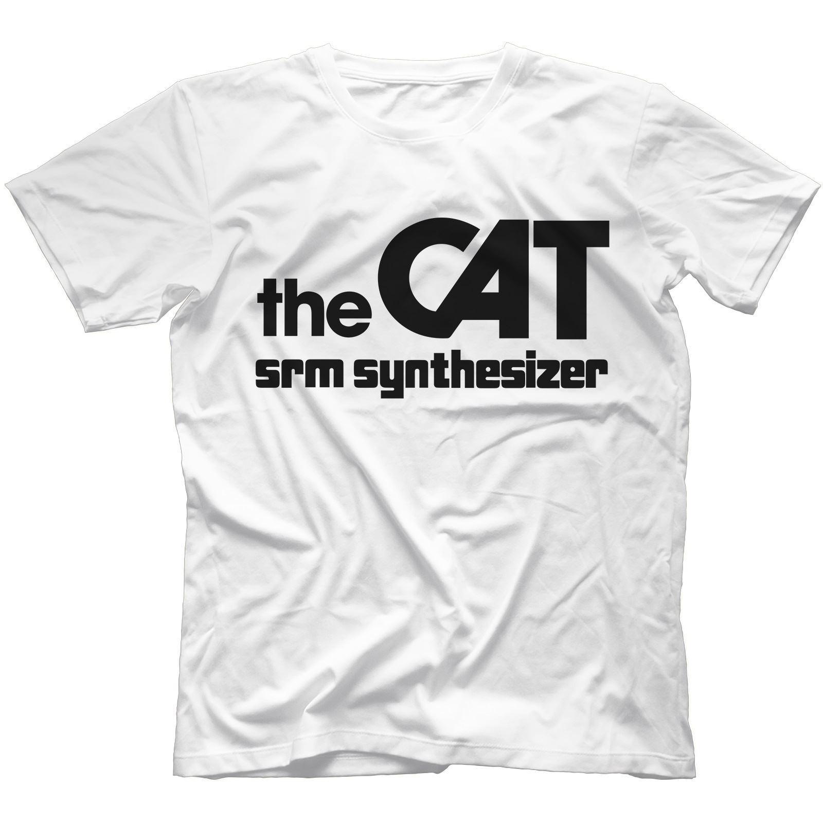 The-Cat-SRM-Synthesiser-T-Shirt-100-Cotton-Retro-Analog-Arp-Odyssey Indexbild 57