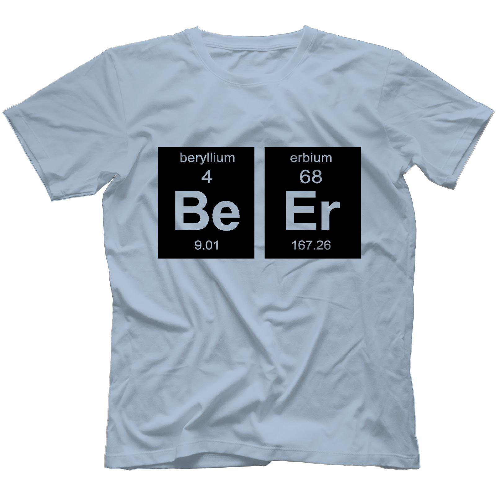 Beer element t shirt 100 cotton geek drinking alcohol periodic beer element t shirt 100 cotton geek drinking urtaz Image collections