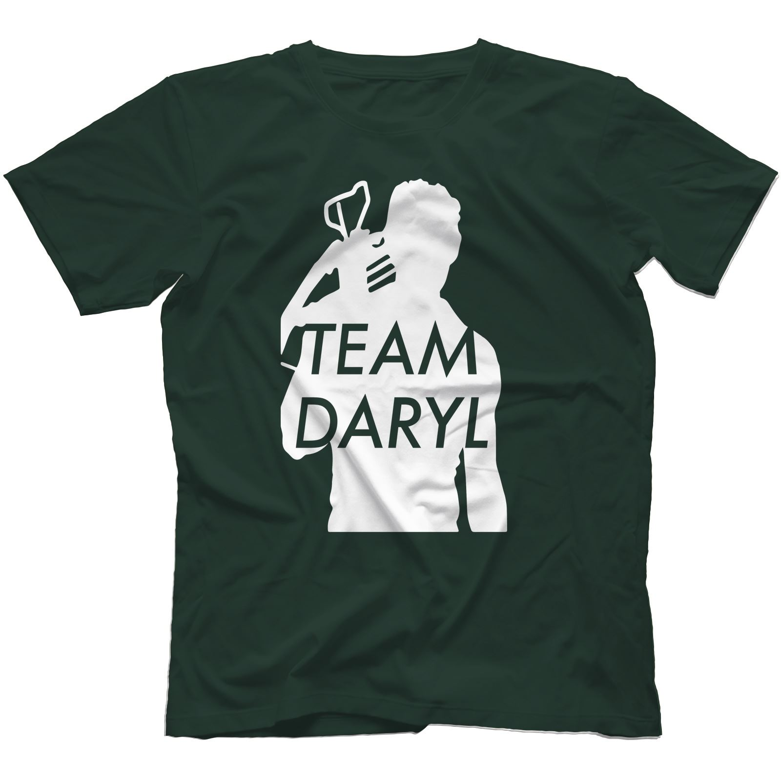 Team-Daryl-Walking-Dead-Inspired-T-Shirt-100-Cotton-Zombie-The-Governor thumbnail 5