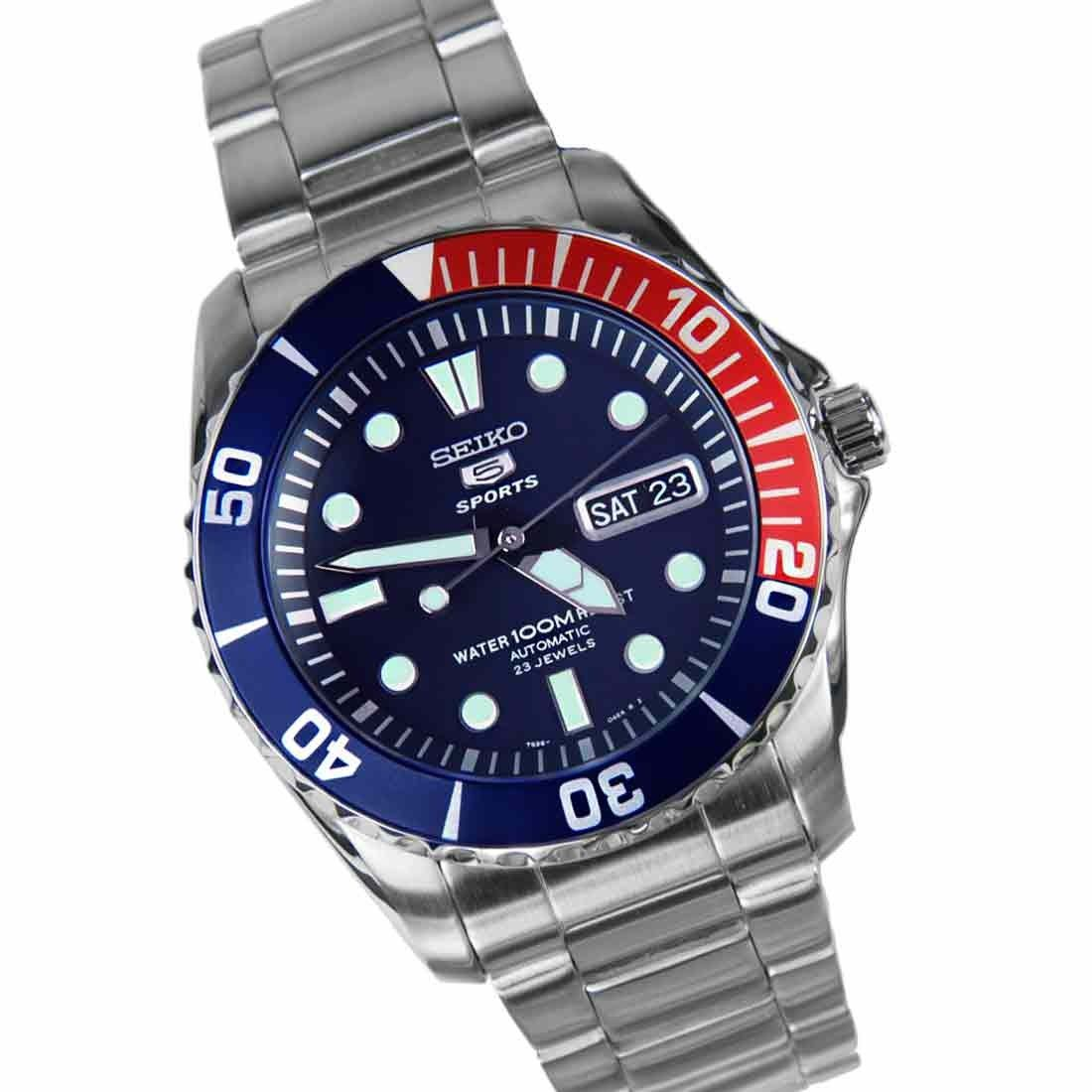 Seiko submariner snzf15k1 wrist watch for men ebay for Submarine watches