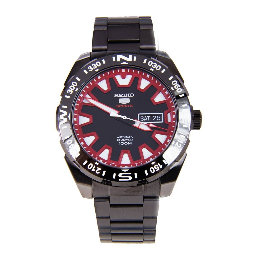 seiko 5 automatic day date gents sports srp749k1