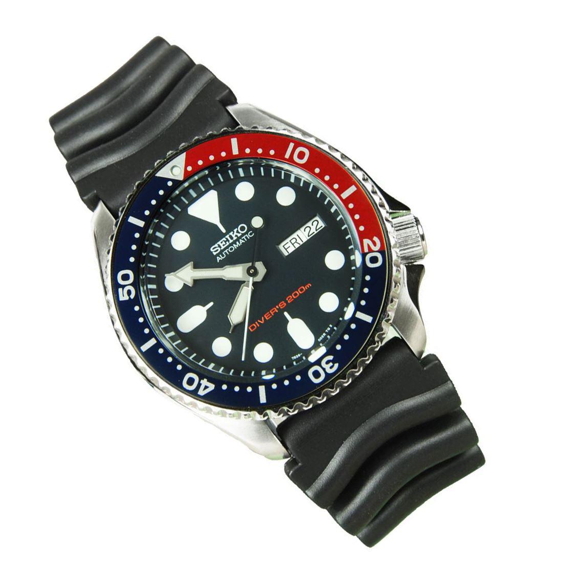 TOP-SELLING-Seiko-SKX009-SKX009J1-SKX009J2-SKX009K1-SKX009K2-Pepsi-Dive-Watch thumbnail 21