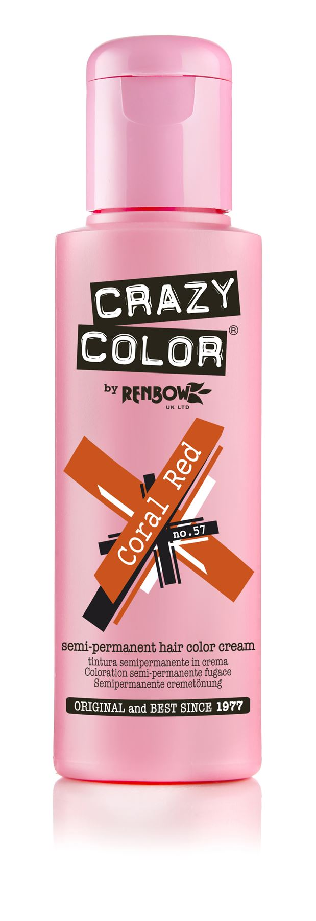 Crazy Color Colour Hair Dye 4 Packs Semi Permanent All