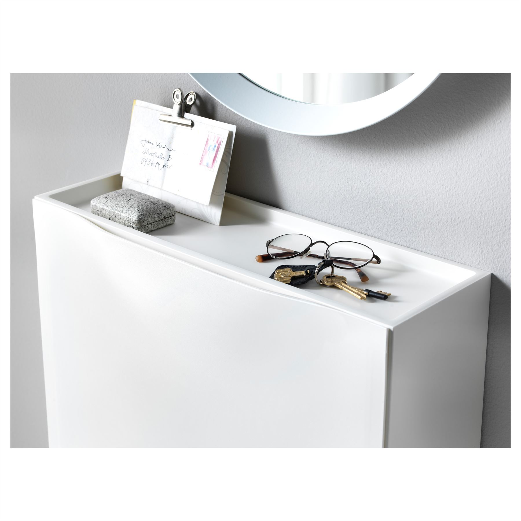 Ikea Trones Shoe Storage Cabinet 3 Pack White New | eBay