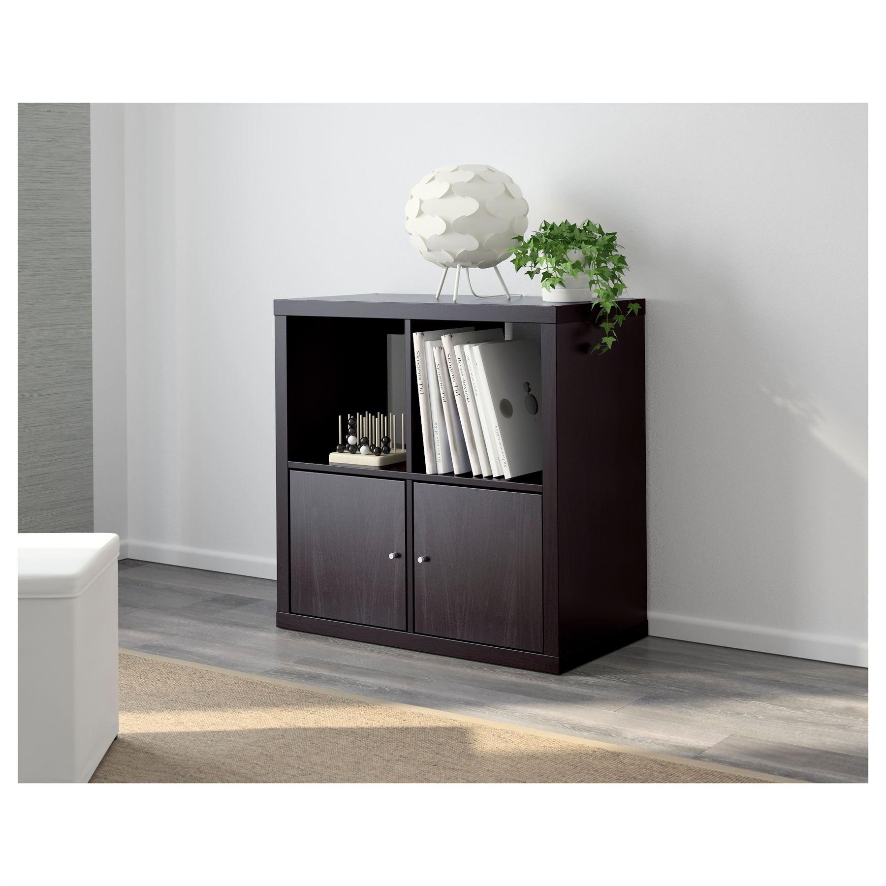 Ikea Kallax 4 Cube Storage Bookcase Square Shelving Unit Various  # Meuble D'Angle Tv Ikea