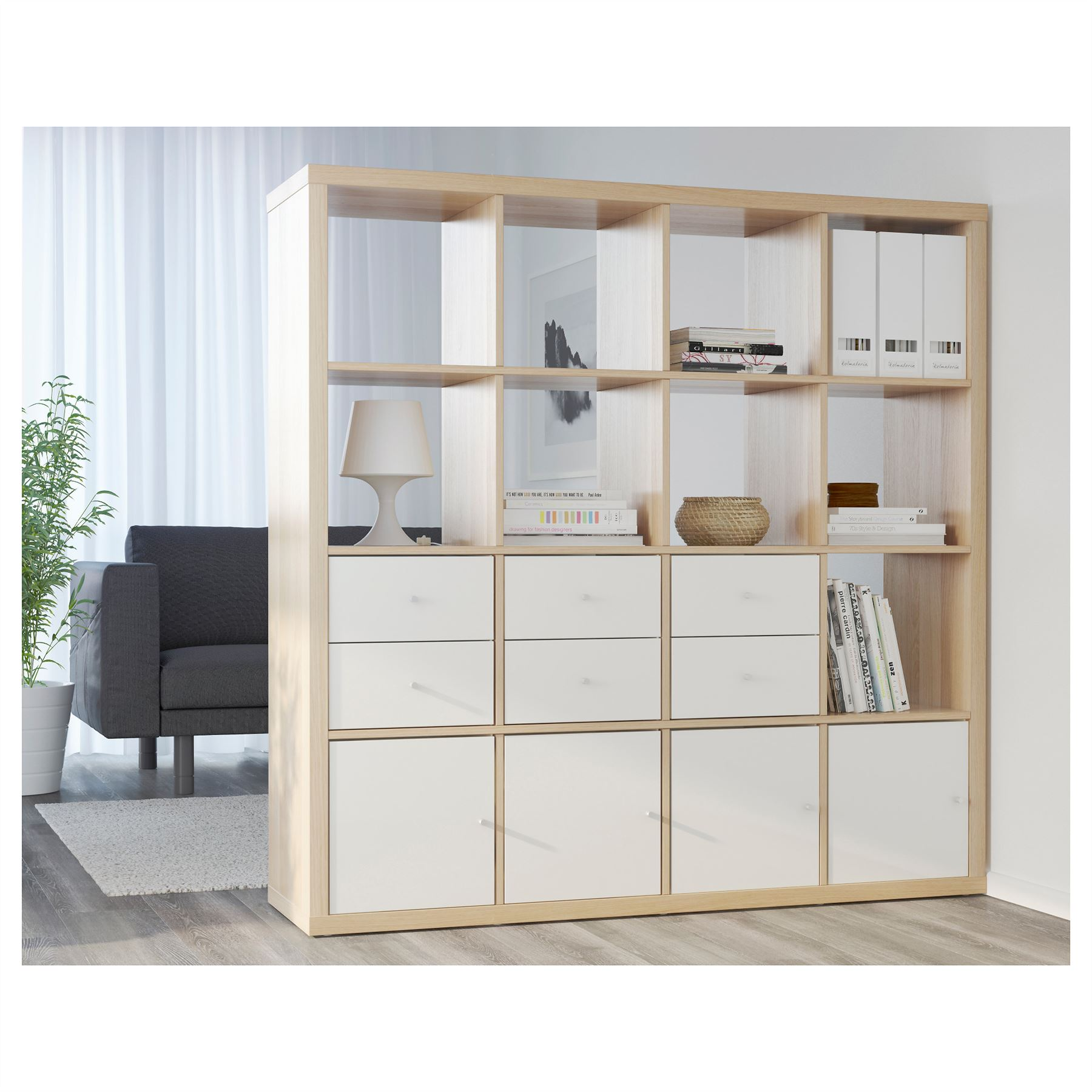 Ikea Regal Kallax Ideen Galerien Raumteiler Regal Ikea: Ikea Kallax 16 Cube Storage Bookcase Square Shelving Unit