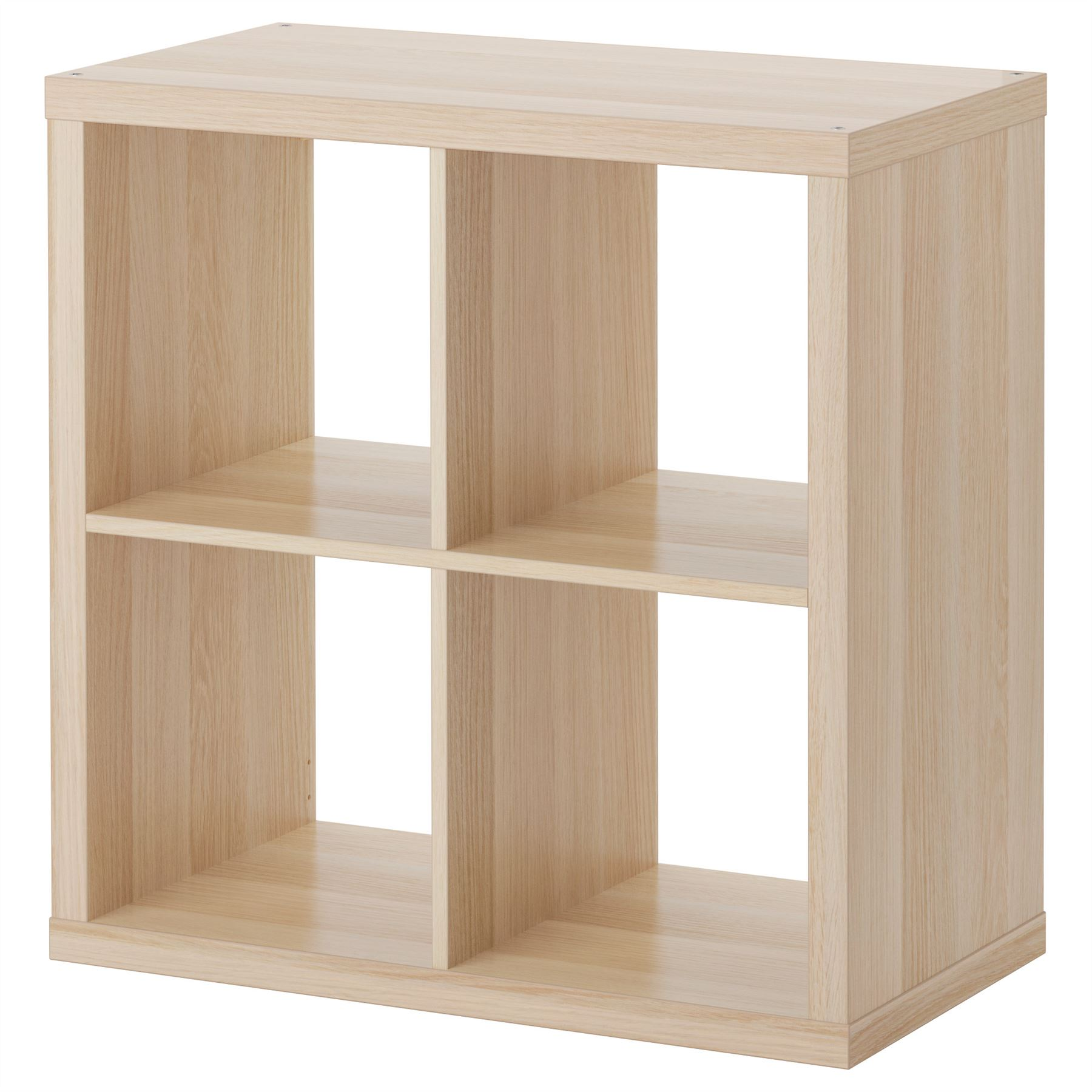 Ikea kallax 4 cube storage bookcase square shelving unit for Ikea mensole cubo