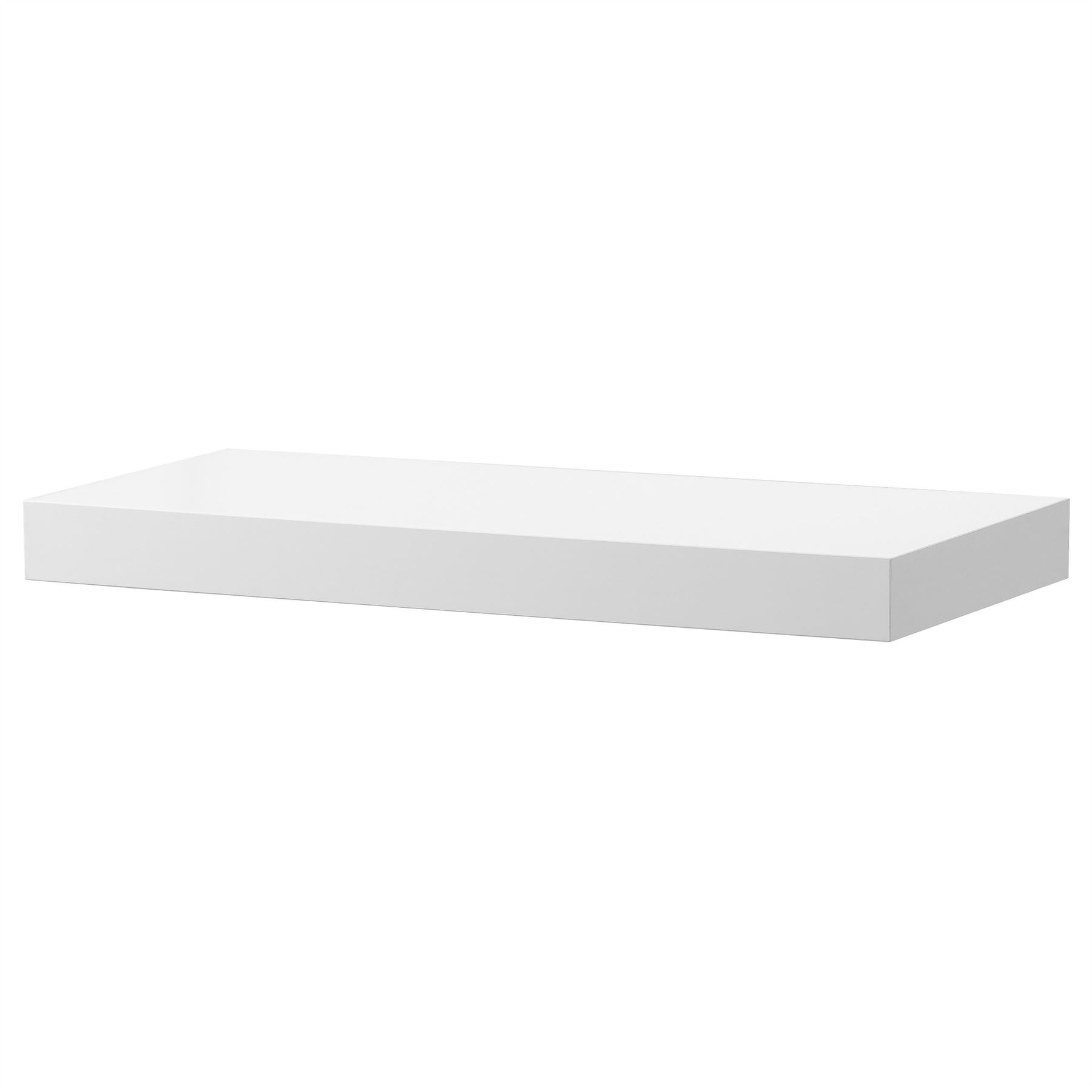 ikea lack floating wall shelf display concealed mounting various sizes colours ebay. Black Bedroom Furniture Sets. Home Design Ideas