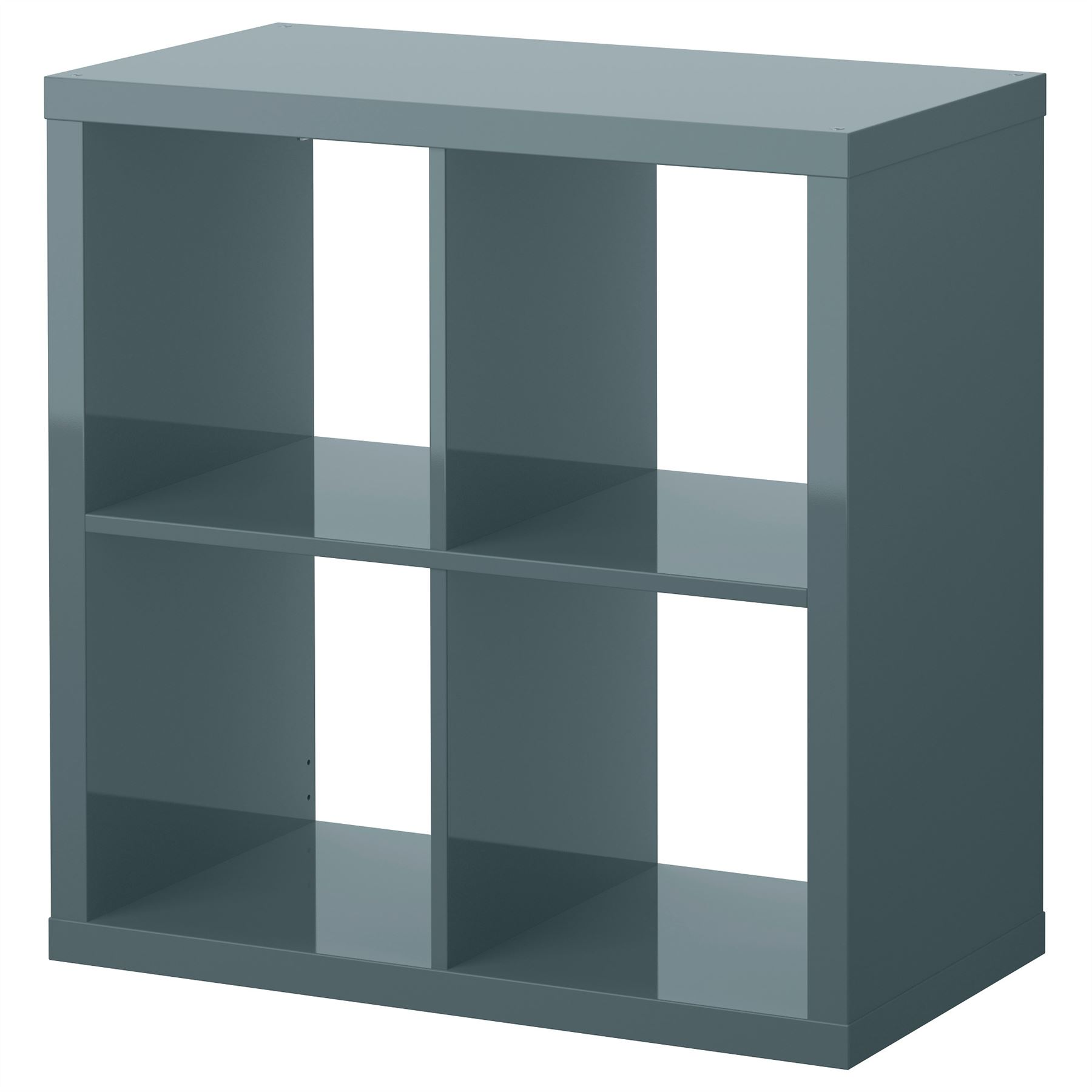 Ikea Kallax 4 Cube Storage Bookcase Square Shelving Unit Various  # Kallax Industriel