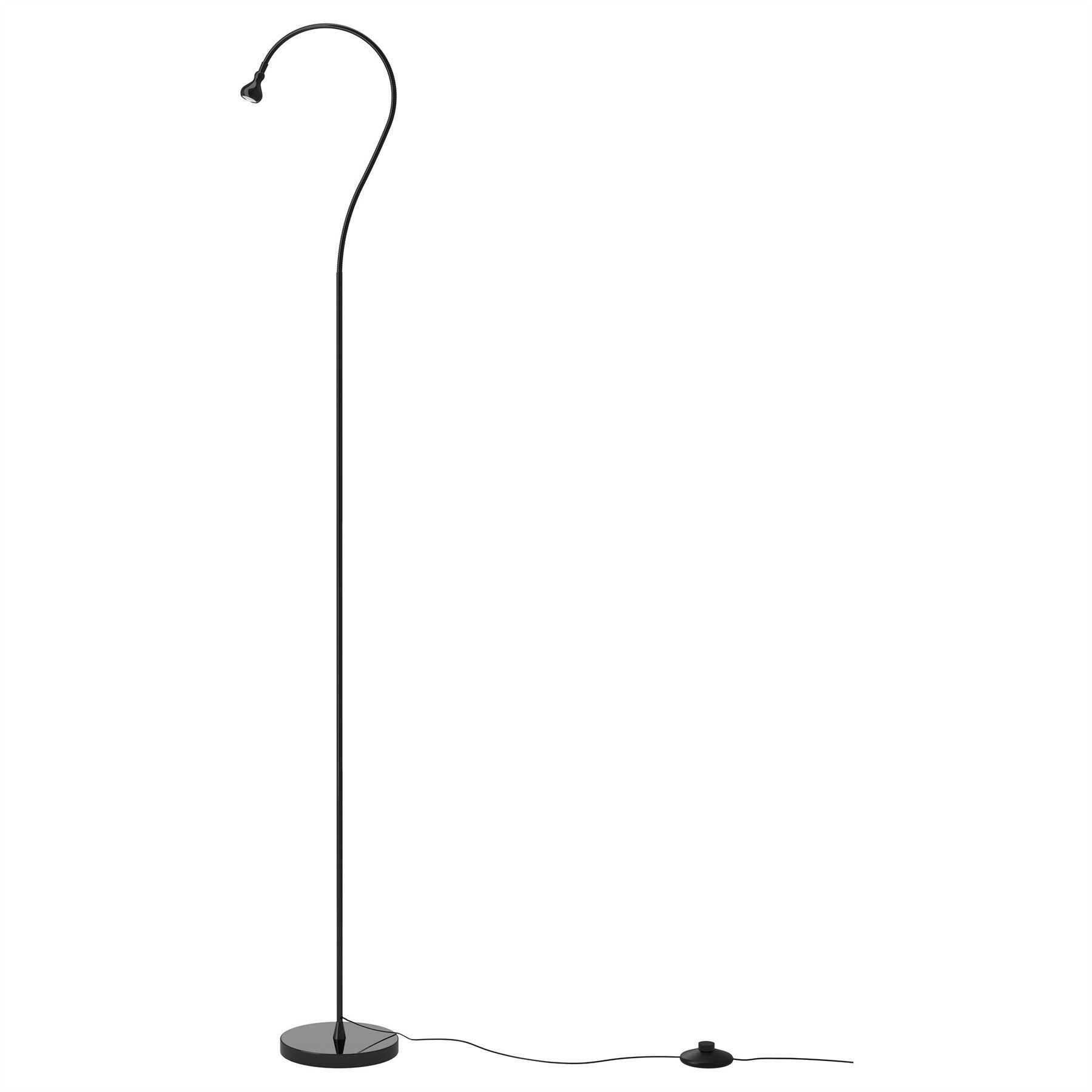 Details About Ikea Jansjo Led Floor Light Lamp Flexible Reading Spotlight Home Office Black