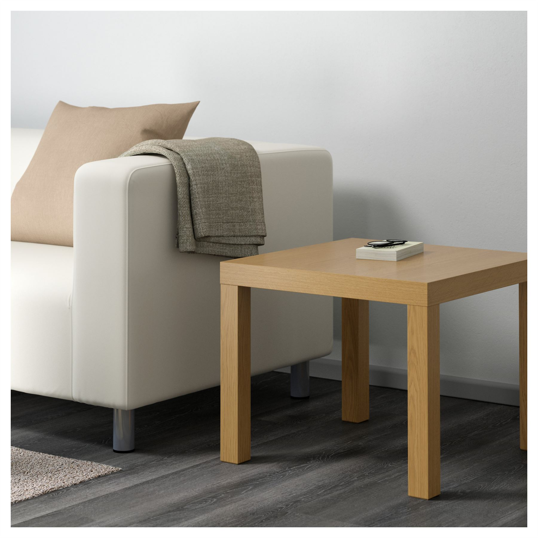 Bedroom Coffee Table: Ikea Lack Side Table End Display 55cm Square Small Coffee