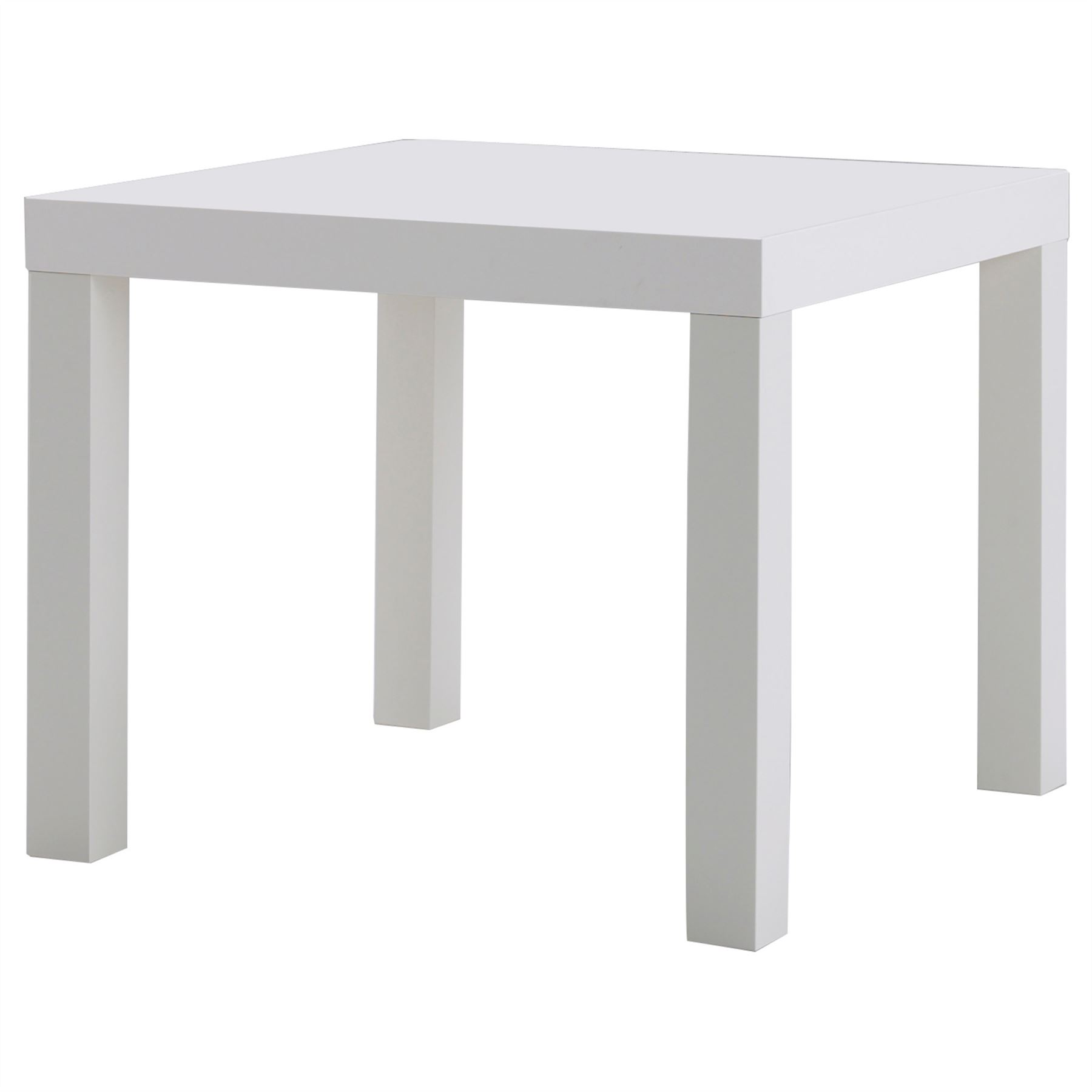 Ikea Lack Side Table End Display 55cm Square Small Coffee Table