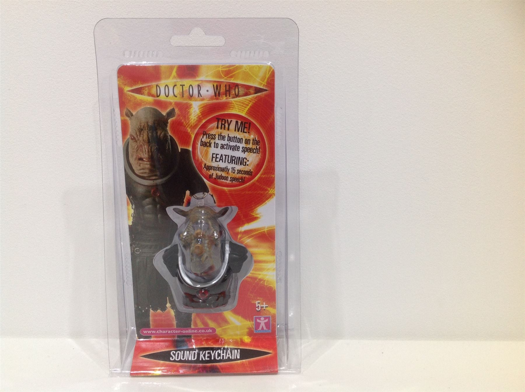 Doctor Who JUDOON SOUND KEYRING Dr NEW