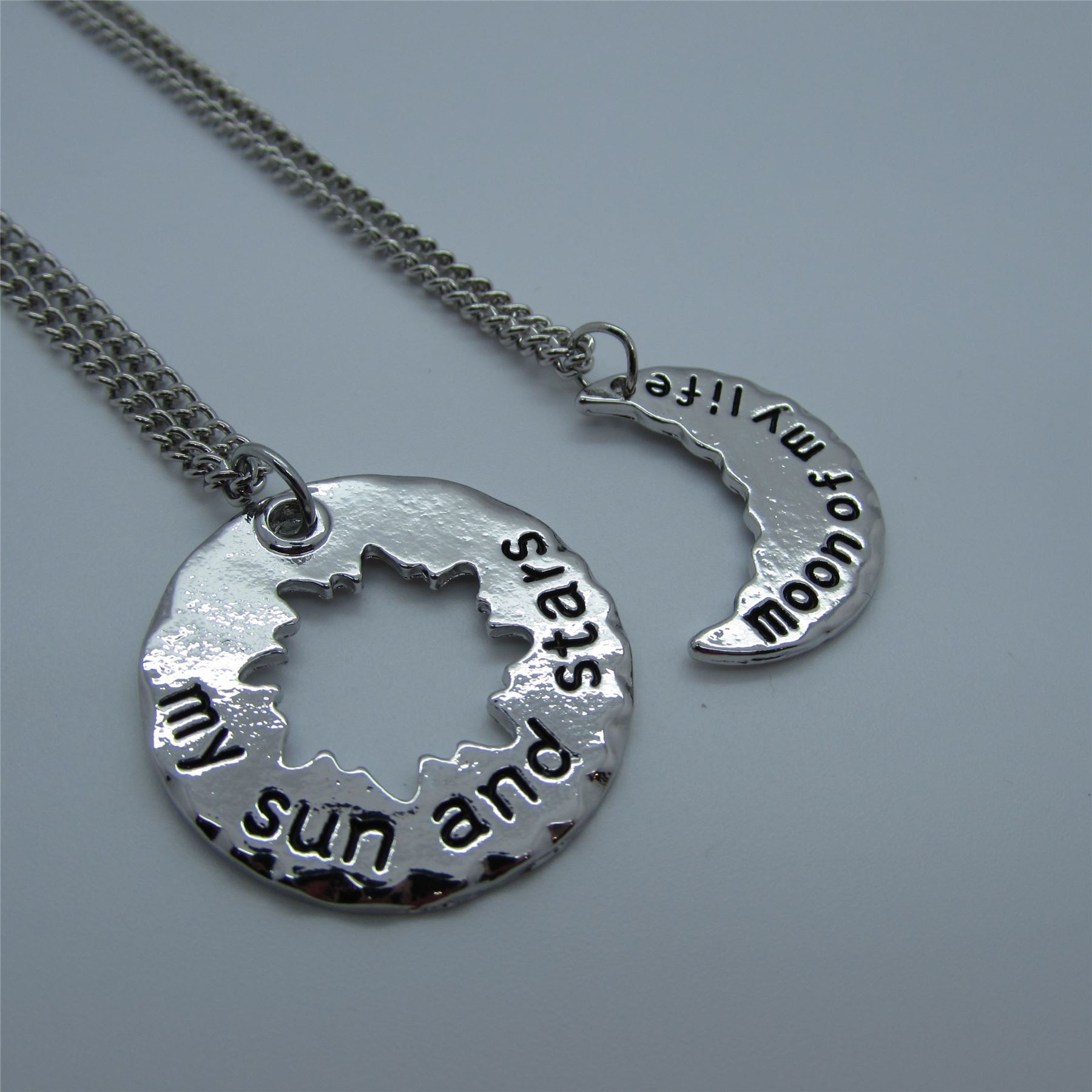 Game Of Thrones MOON OF MY LIFE and SUN & STARS Necklaces ...