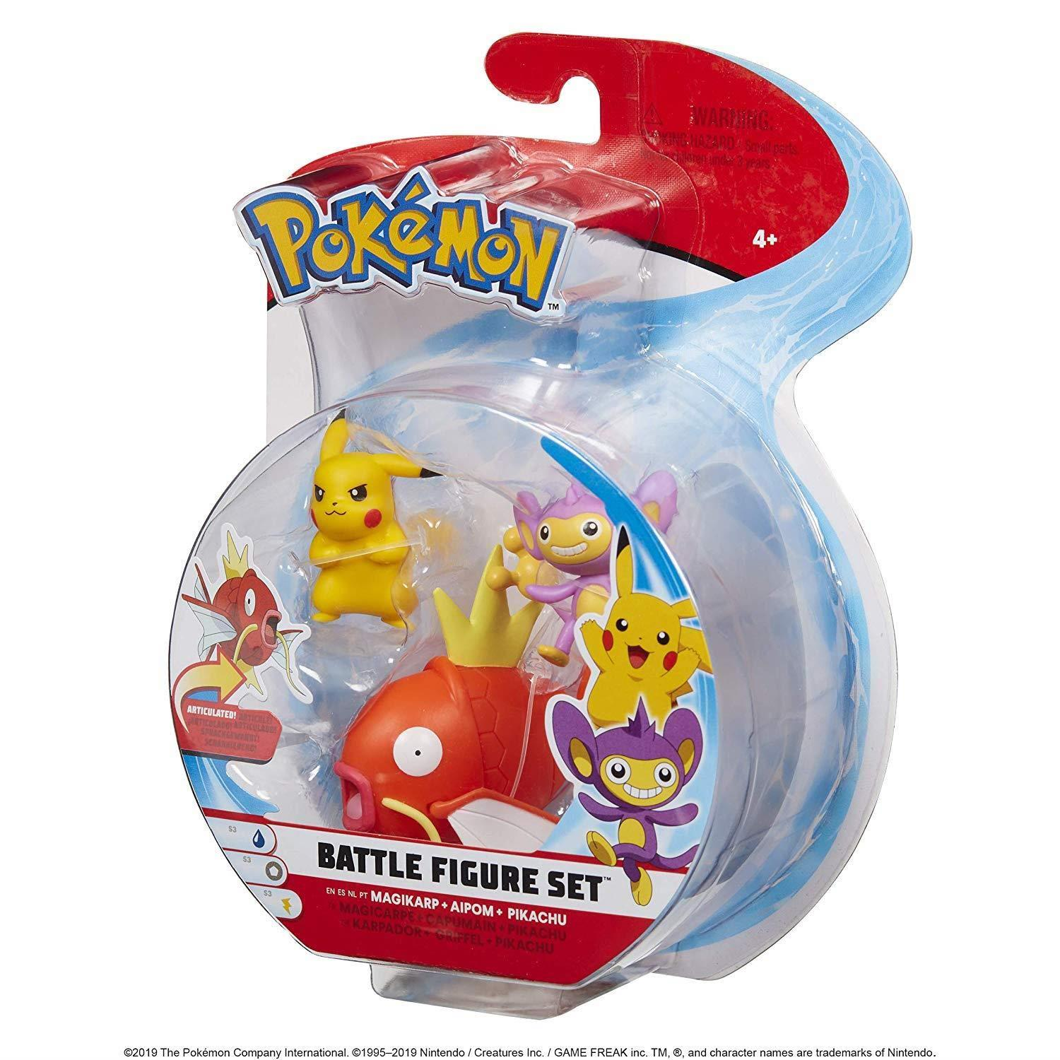 POKEMON BATTLE ACTION FIGURE MAGIKARP