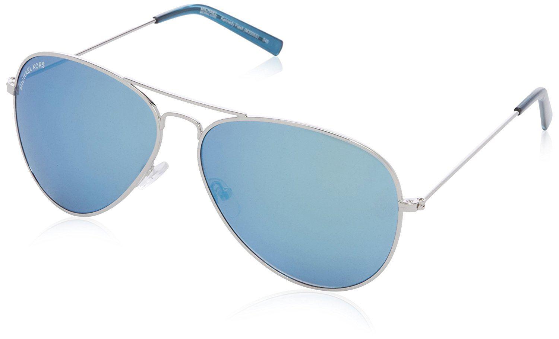 Michael Kors M3005S 720 62 Damen Kennedy Goldrahmen mit Blue-Flash ...