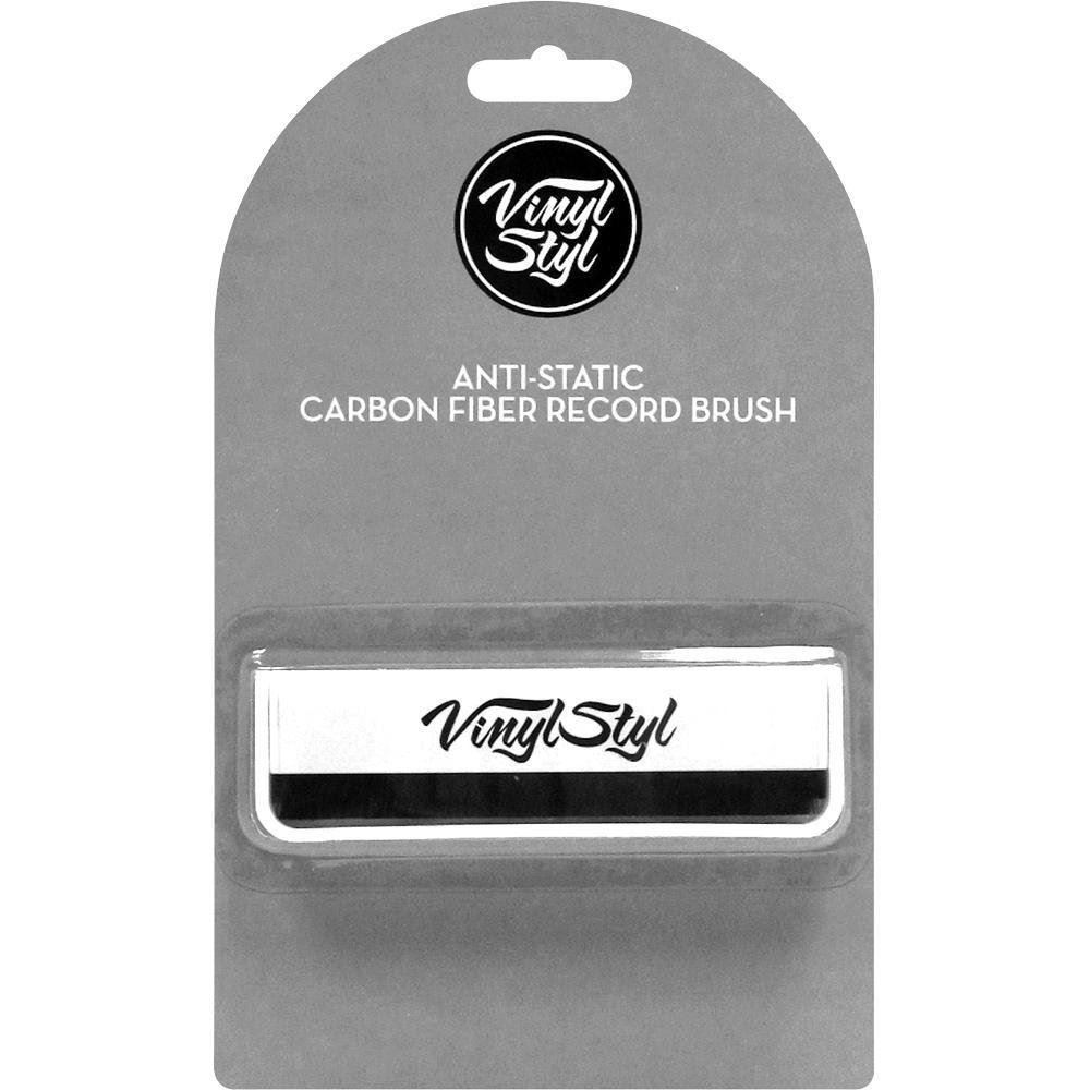 Anti Static Vinyl : Vinyl style anti static carbon fibre record cleaning brush