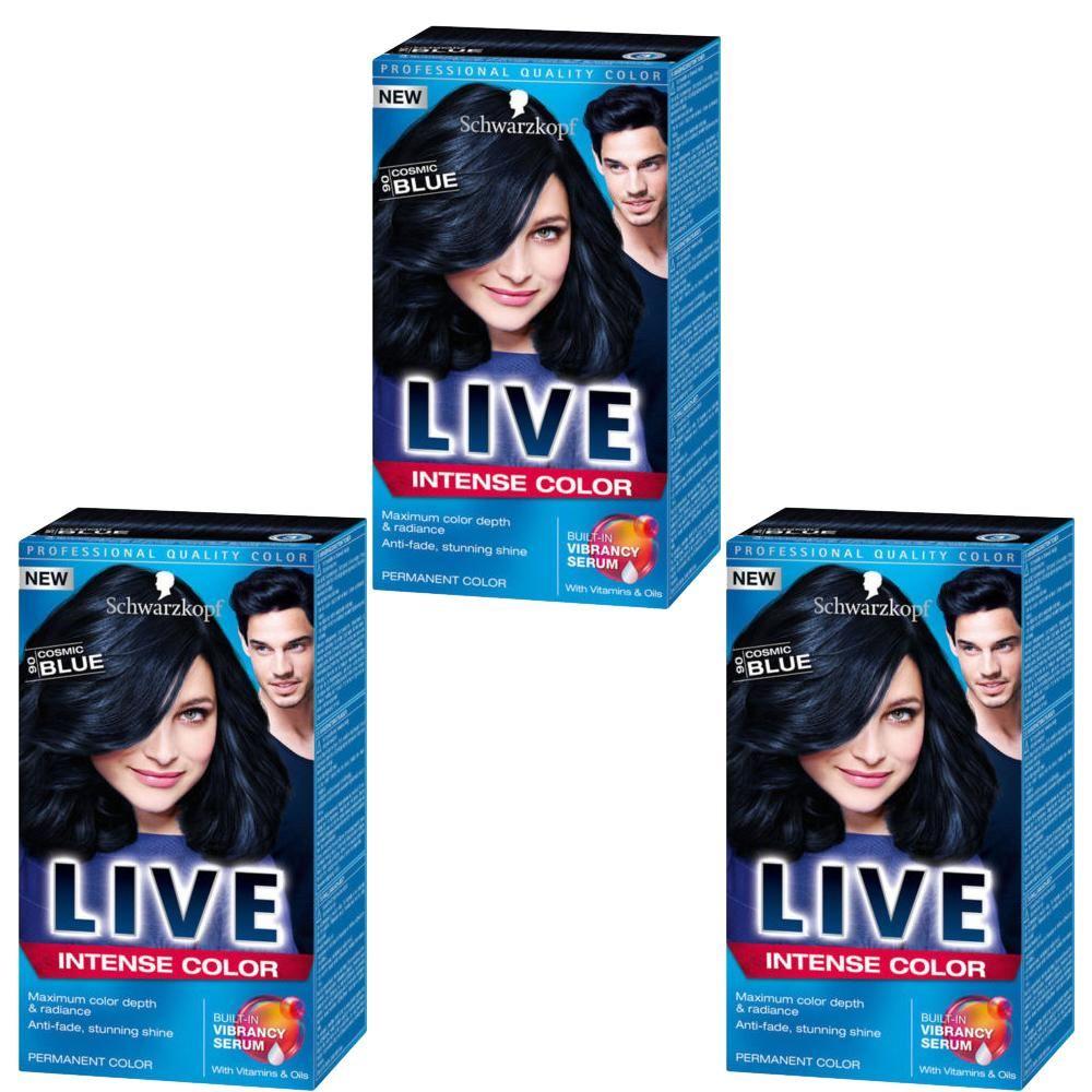 Schwarzkopf-XXL-Live-Intense-Colour-Hair-Dye-3-Packs-Varying-Shades-New