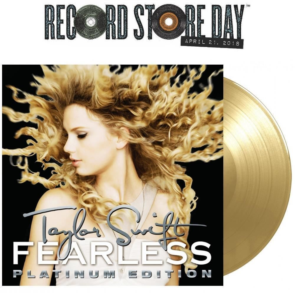 Double Gold Platinum: Taylor Swift Fearless Platinum Edition Double Gold Vinyl