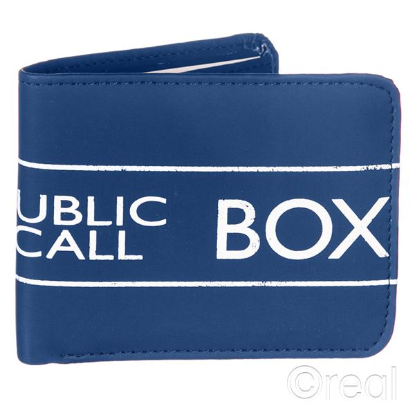 New-Doctor-Who-TARDIS-Bi-Folding-Wallet-Retro-Official-Licensed