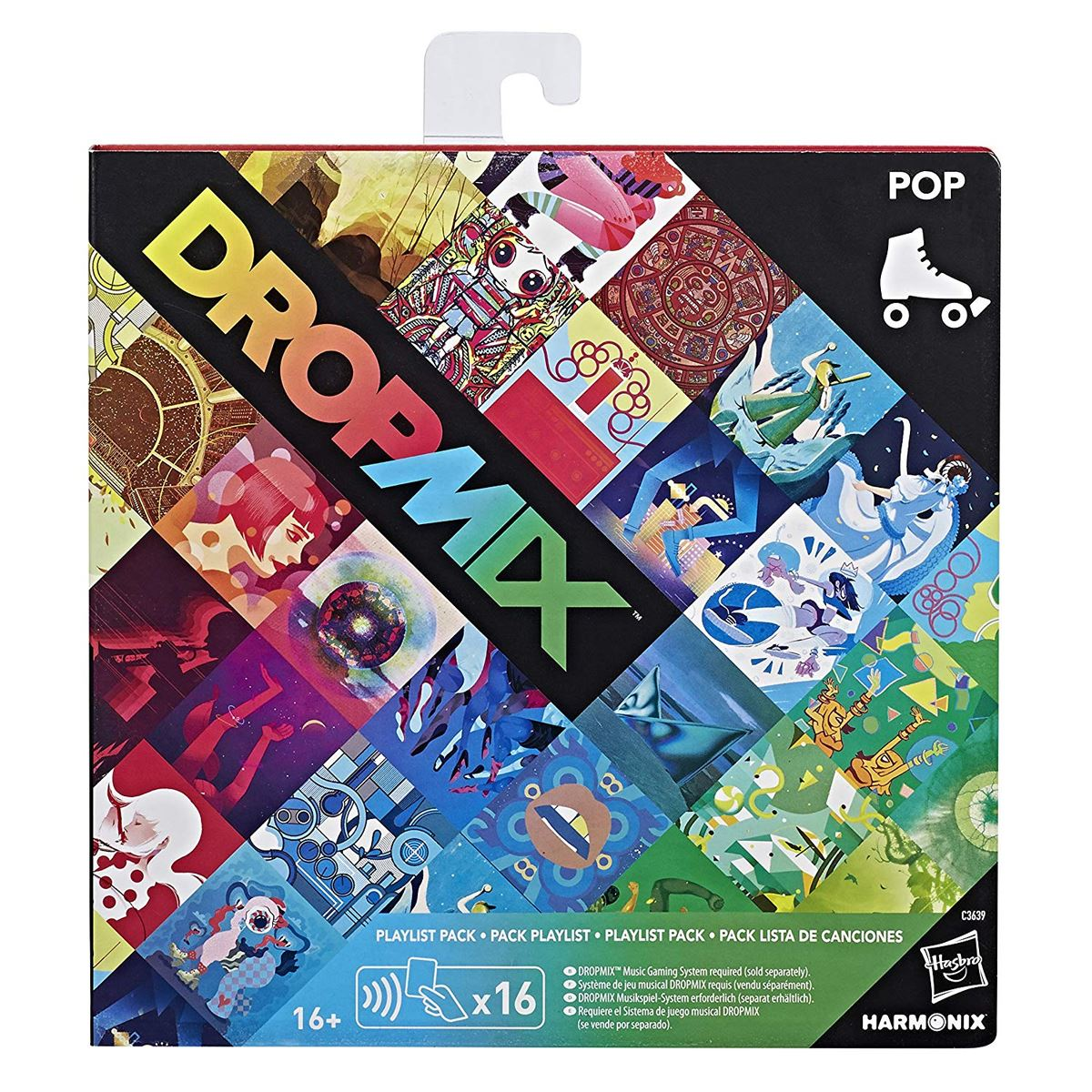 New-Dropmix-Rock-Pop-Hip-Hop-Or-Electronic-Playlist-Card-Pack-Hasbro-Official miniatuur 11