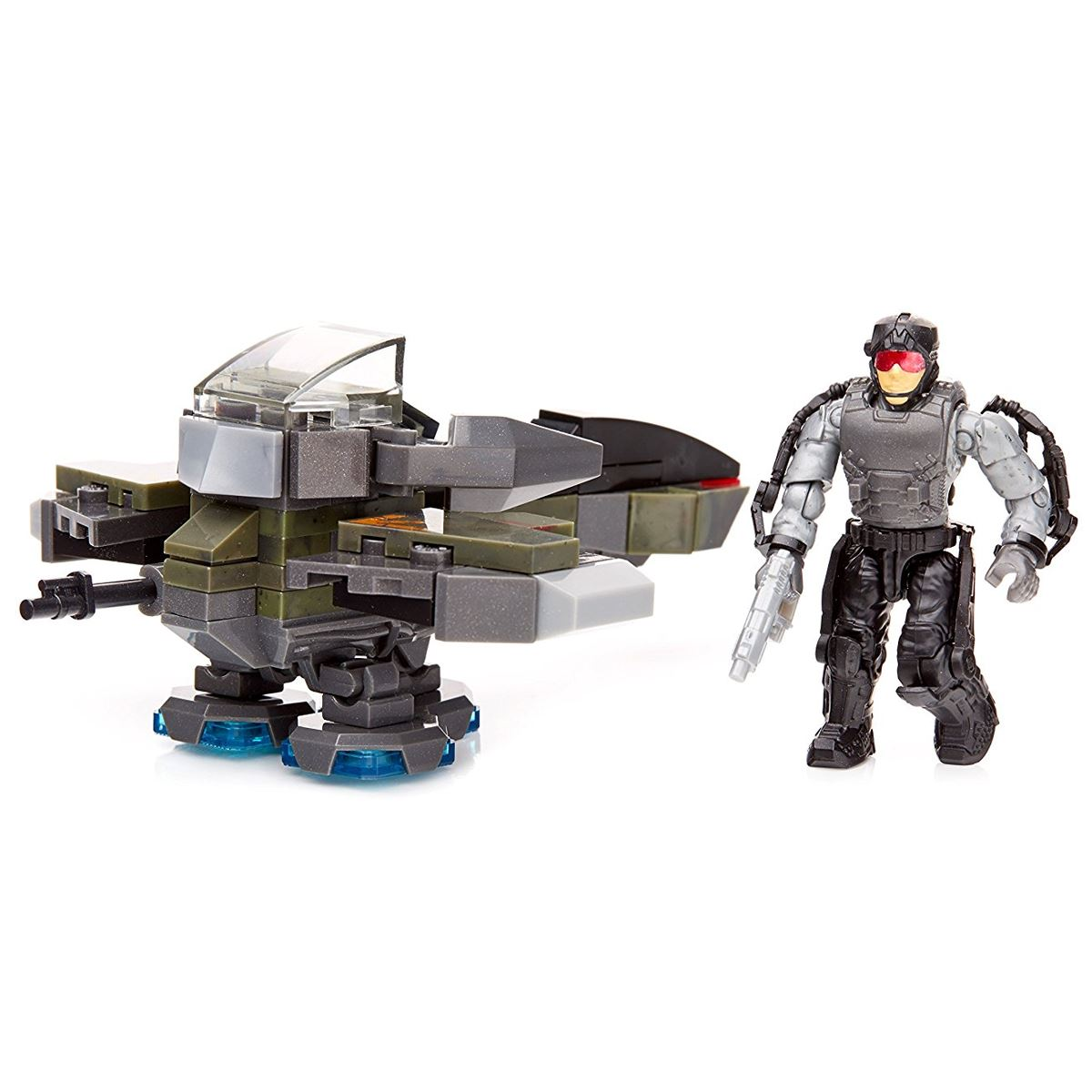 New-Mega-Blocks-Call-Of-Duty-Recon-Outpost-Or-Rocket-Turret-w-Figures-Official
