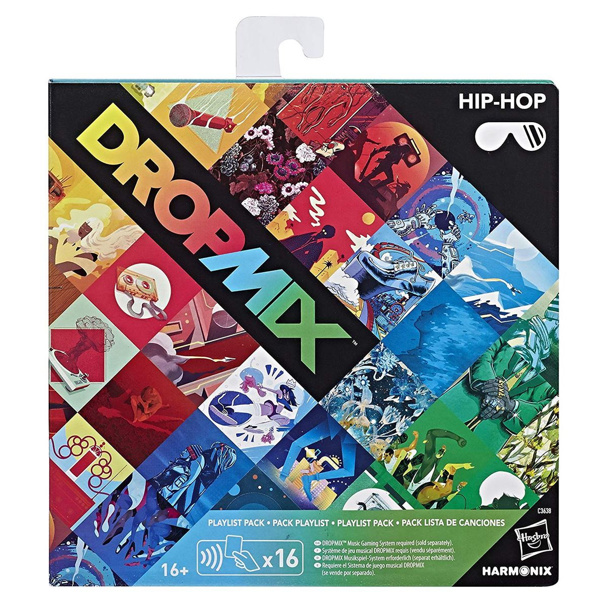 New-Dropmix-Rock-Pop-Hip-Hop-Or-Electronic-Playlist-Card-Pack-Hasbro-Official miniatuur 14