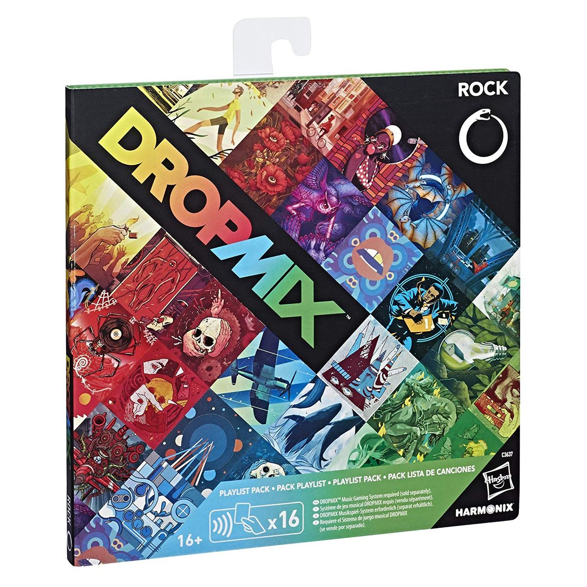 New-Dropmix-Rock-Pop-Hip-Hop-Or-Electronic-Playlist-Card-Pack-Hasbro-Official miniatuur 9