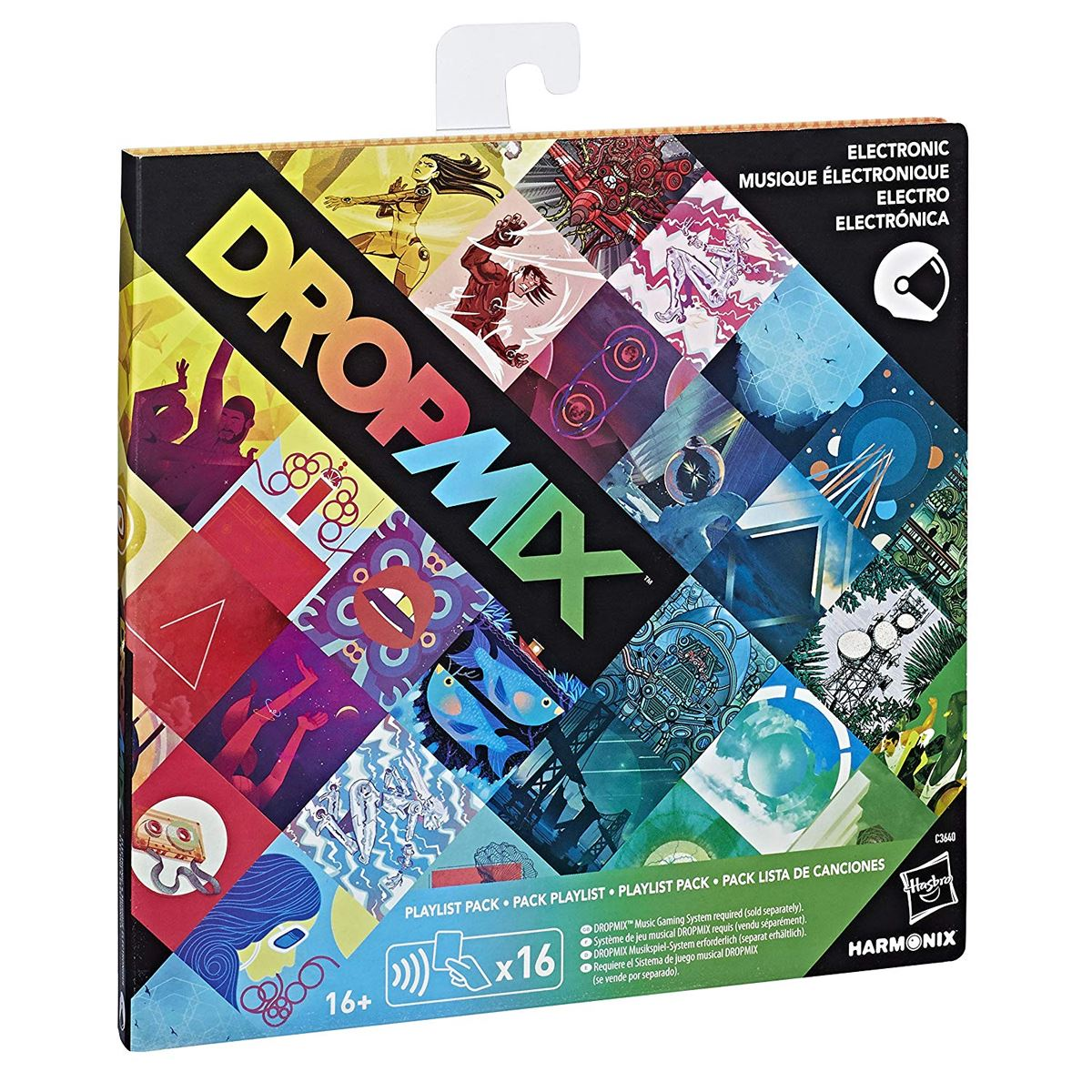 New-Dropmix-Rock-Pop-Hip-Hop-Or-Electronic-Playlist-Card-Pack-Hasbro-Official miniatuur 6