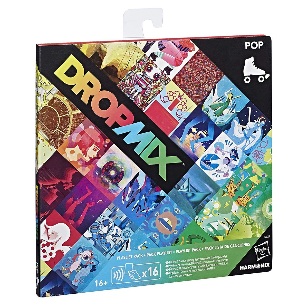 New-Dropmix-Rock-Pop-Hip-Hop-Or-Electronic-Playlist-Card-Pack-Hasbro-Official miniatuur 12