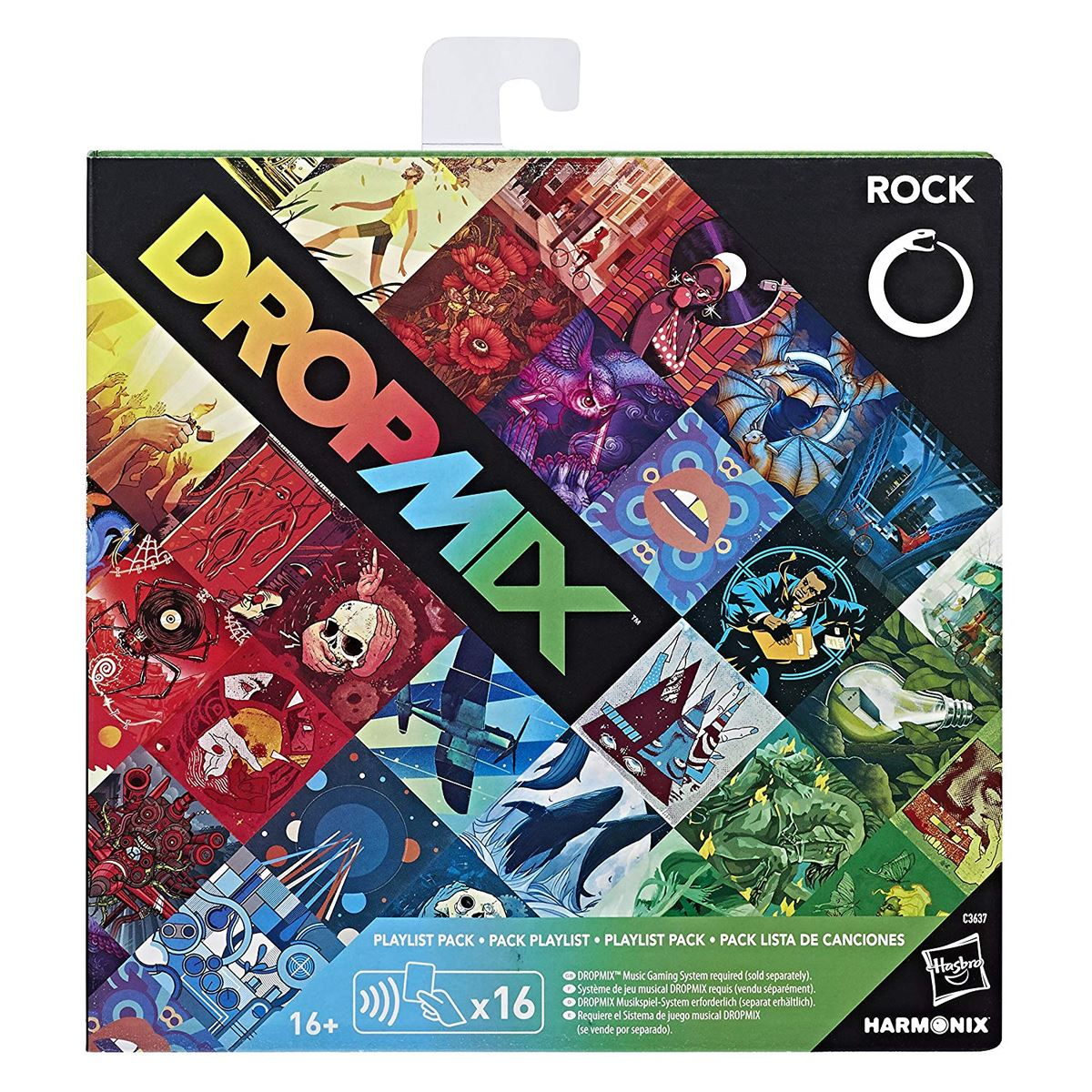New-Dropmix-Rock-Pop-Hip-Hop-Or-Electronic-Playlist-Card-Pack-Hasbro-Official miniatuur 8