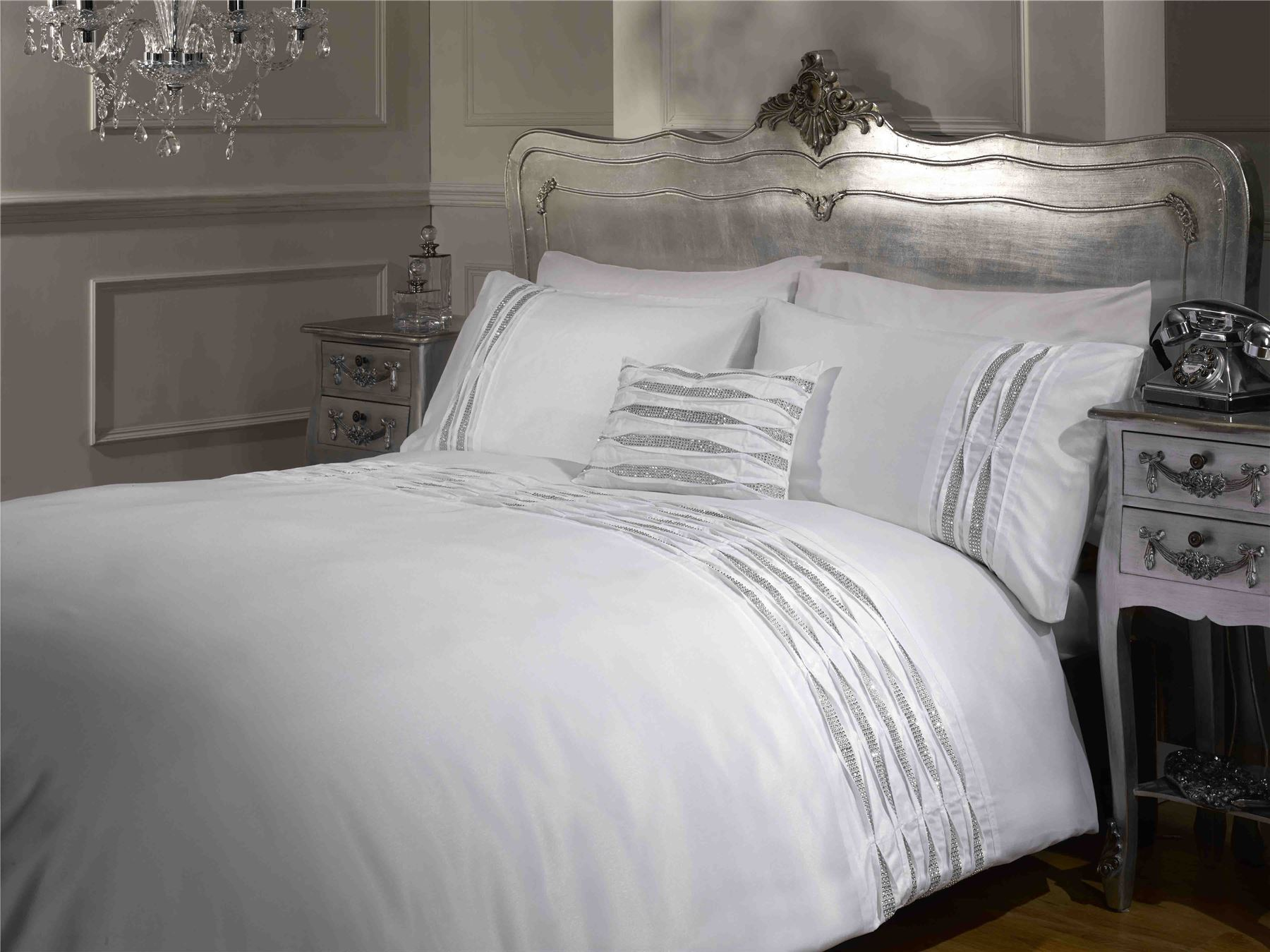 Luxury White Bed Linen Part - 36: Picture 2 Of 5 ...