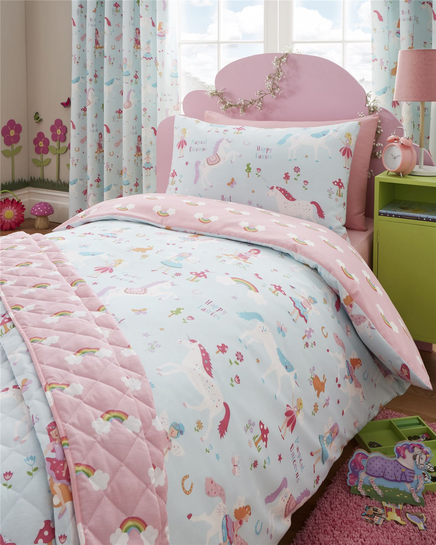 Pony Bedroom Accessories Girls Double Bedding Ebay