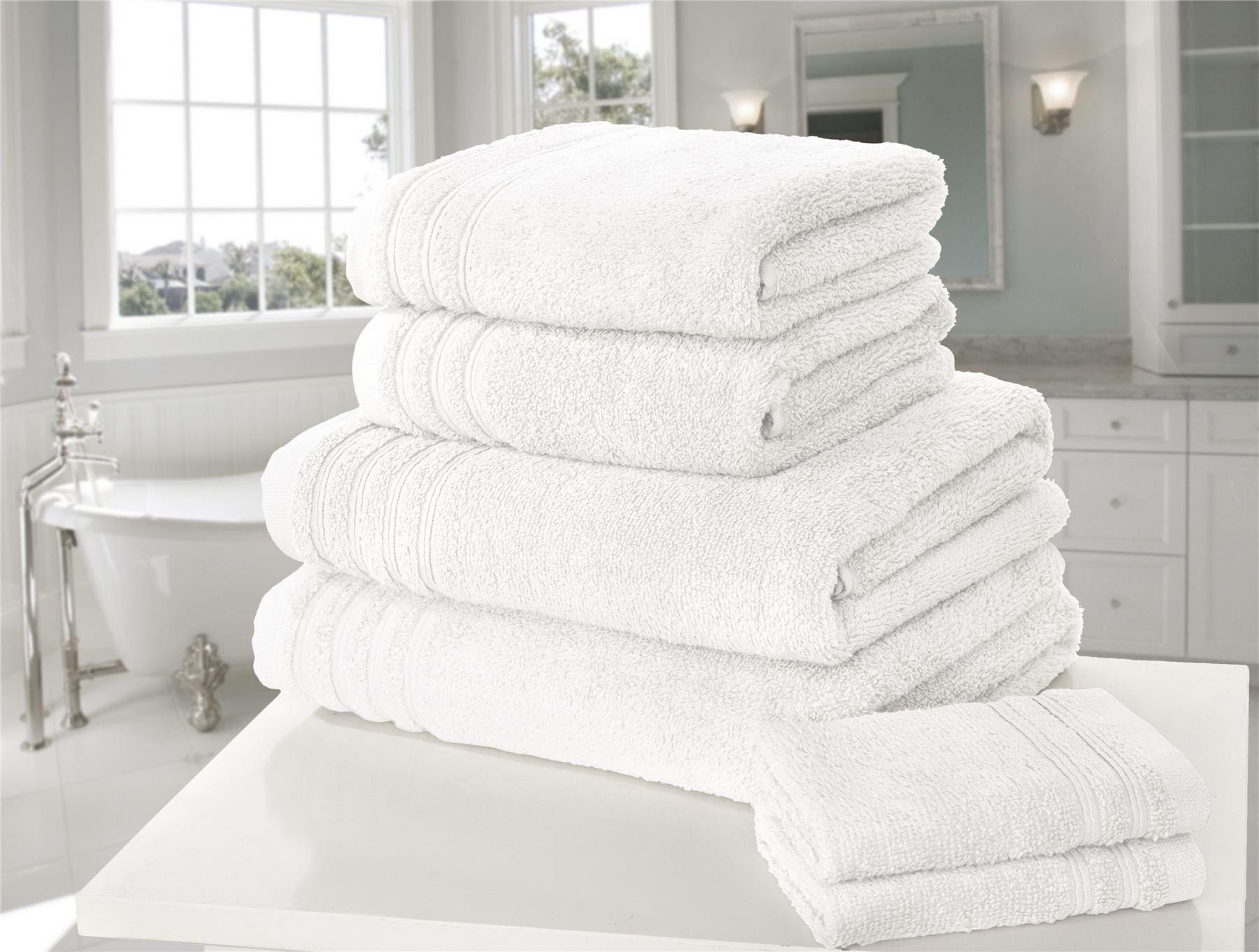 So Soft 450gsm 100 Cotton High Quality Bathroom Towels Ebay