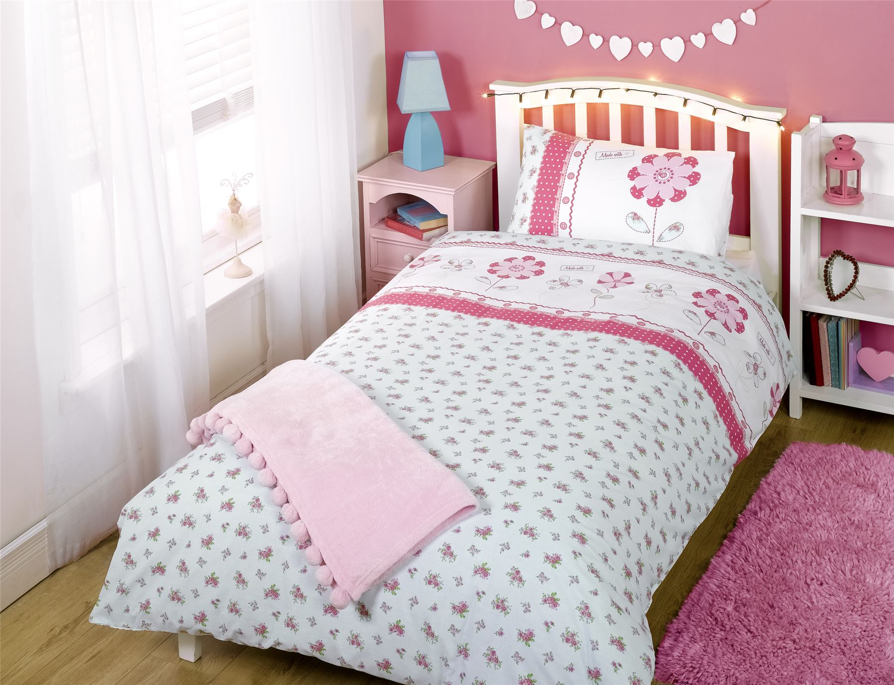 Bedrooms for girls age 3 - Girls Single Bedding Age 3 To 13 Duvet